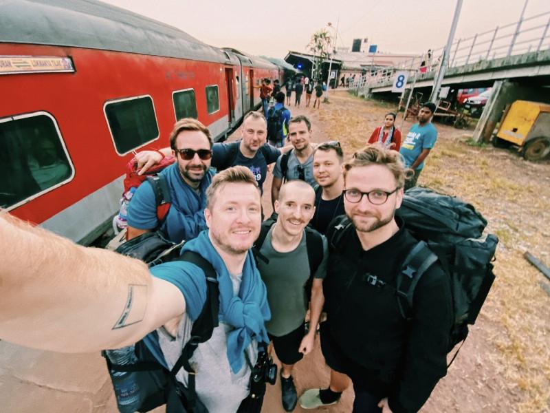 Indie vlakem