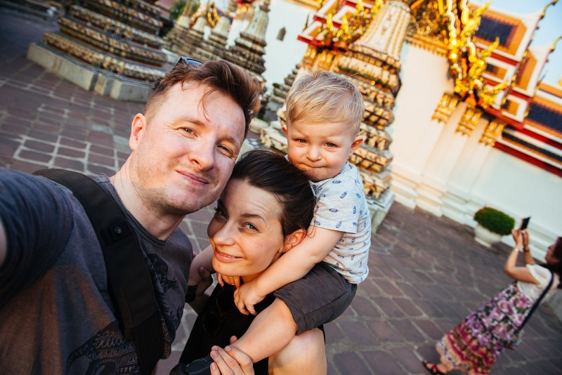 Rodinný výlet do Thajska