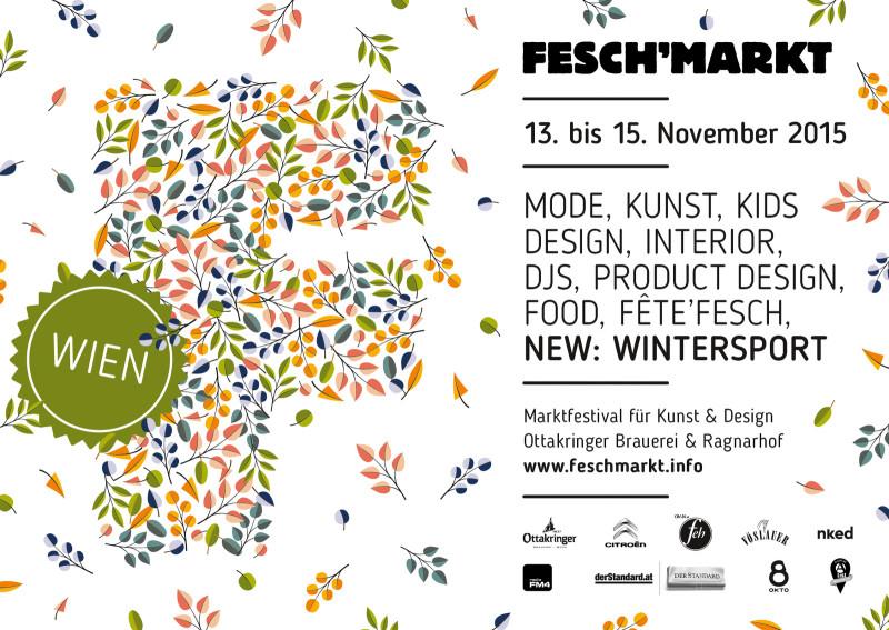 Podzimní Feschmarkt ve Vídni