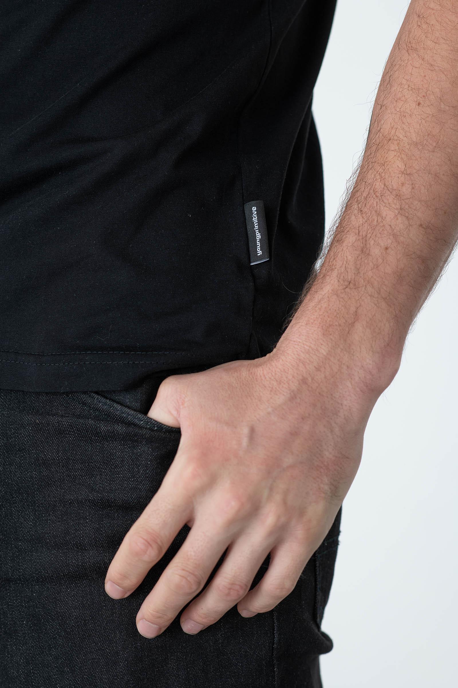 tričko Try again černá