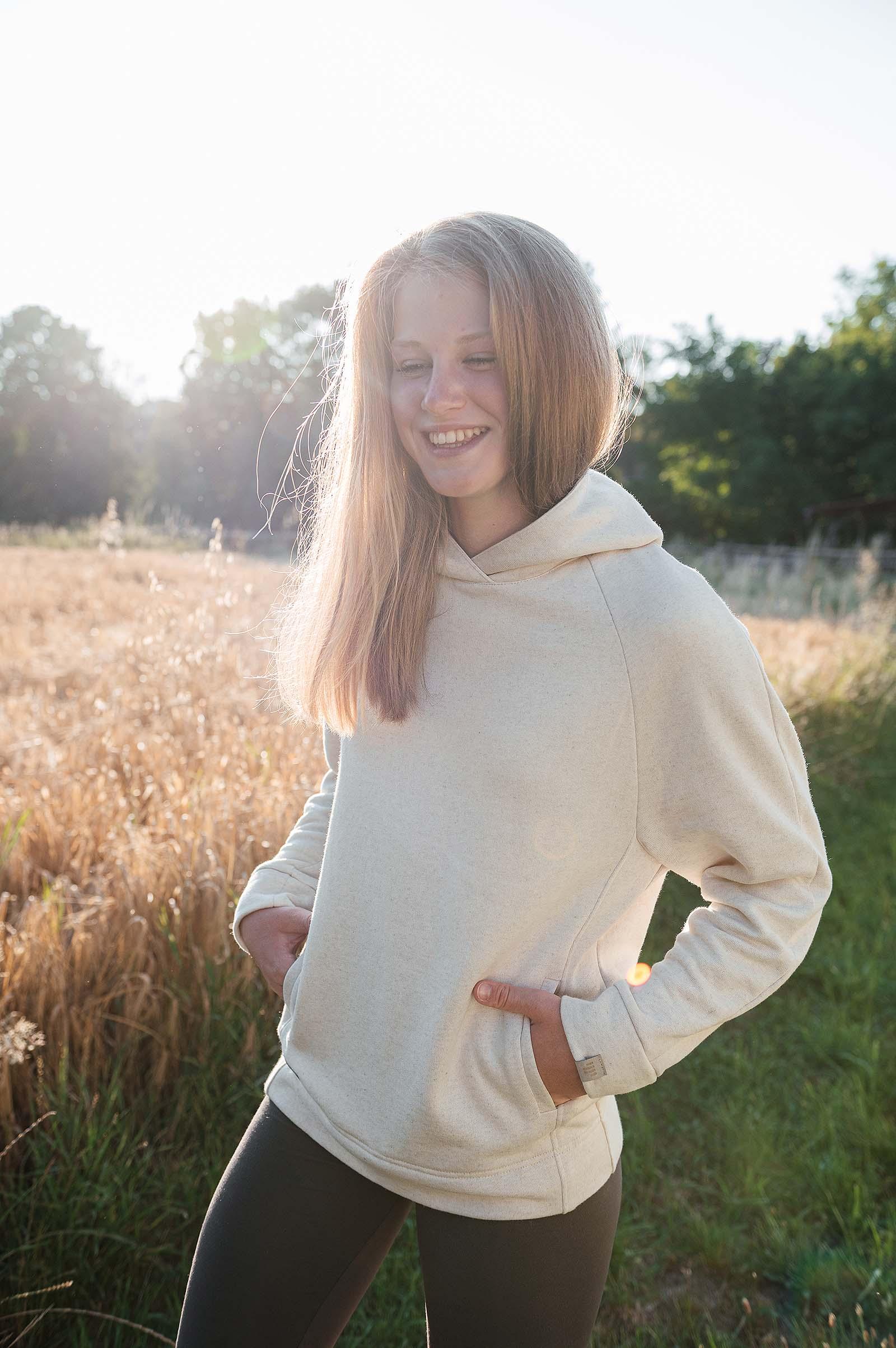 sweatshirt and rollneck Dooha natural