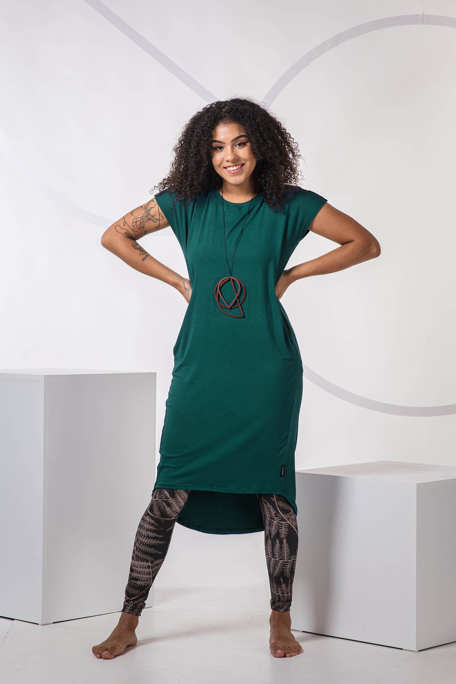 Dresses and skirts Naja 2.0 forest