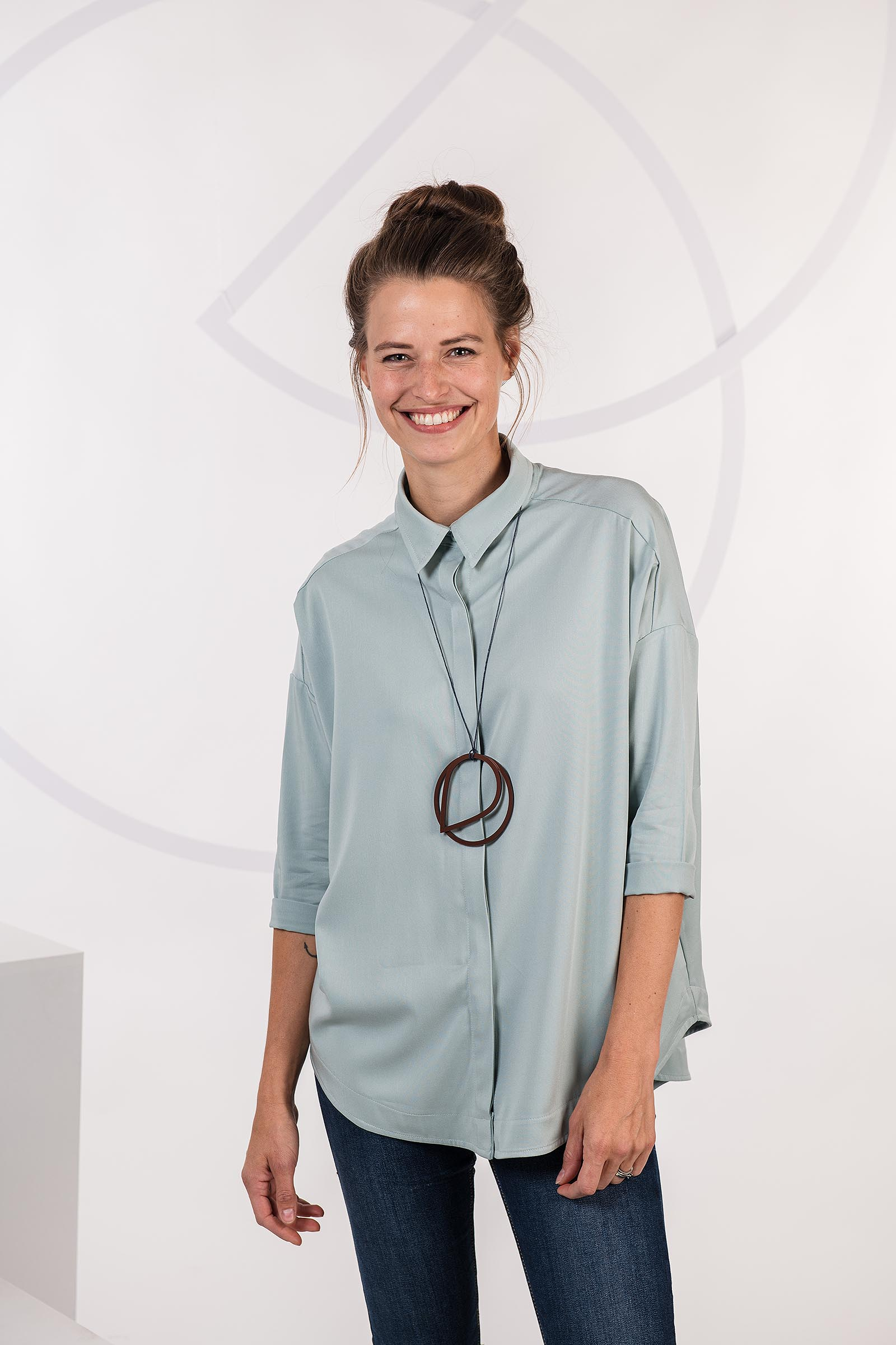 Dámské tričko Greta šalvějová
