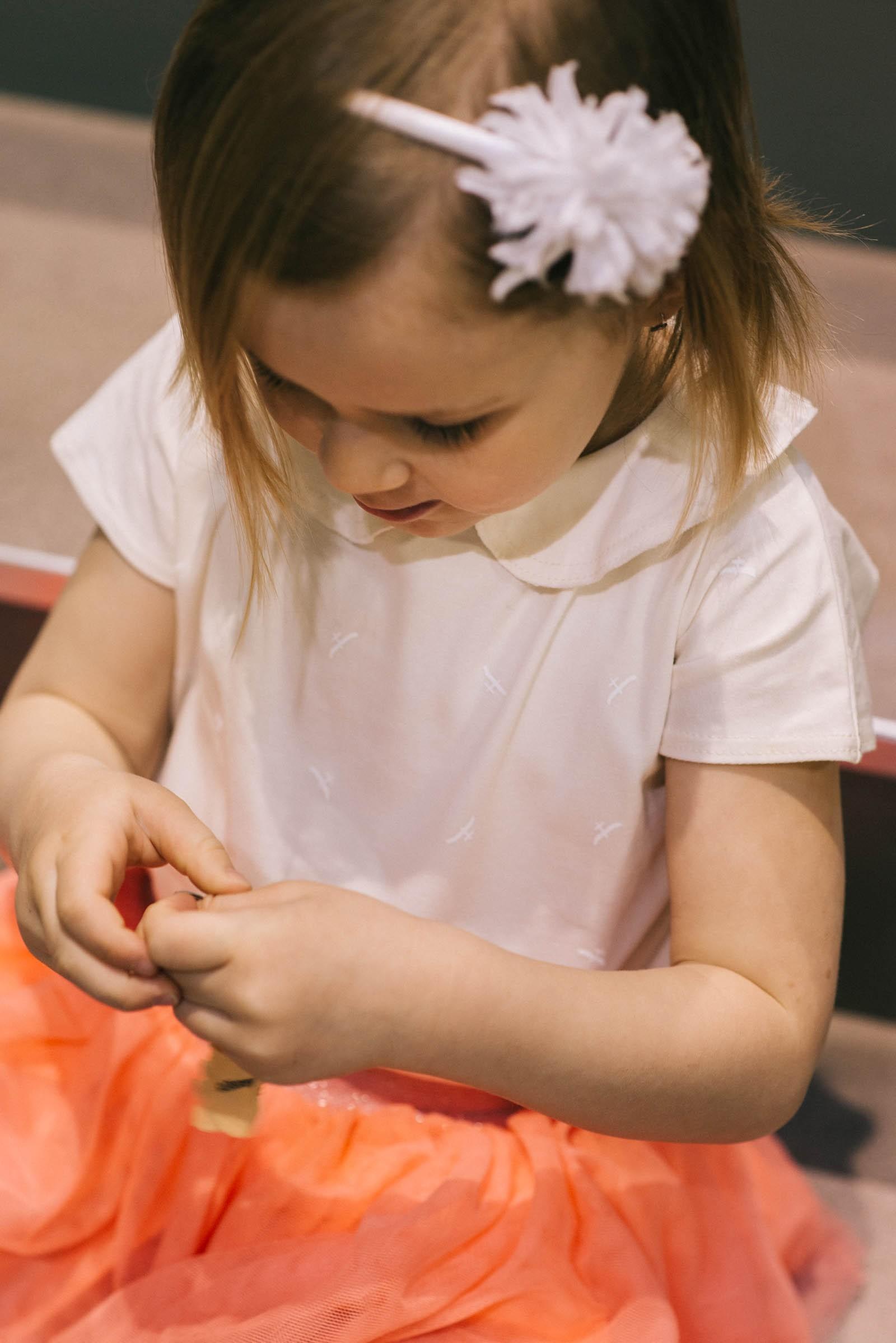 children's outfit Sofi cream
