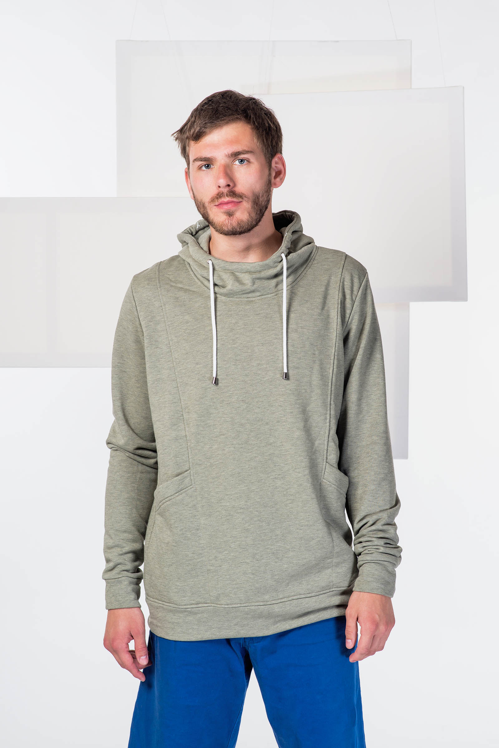 men sweatshirt Edward light army