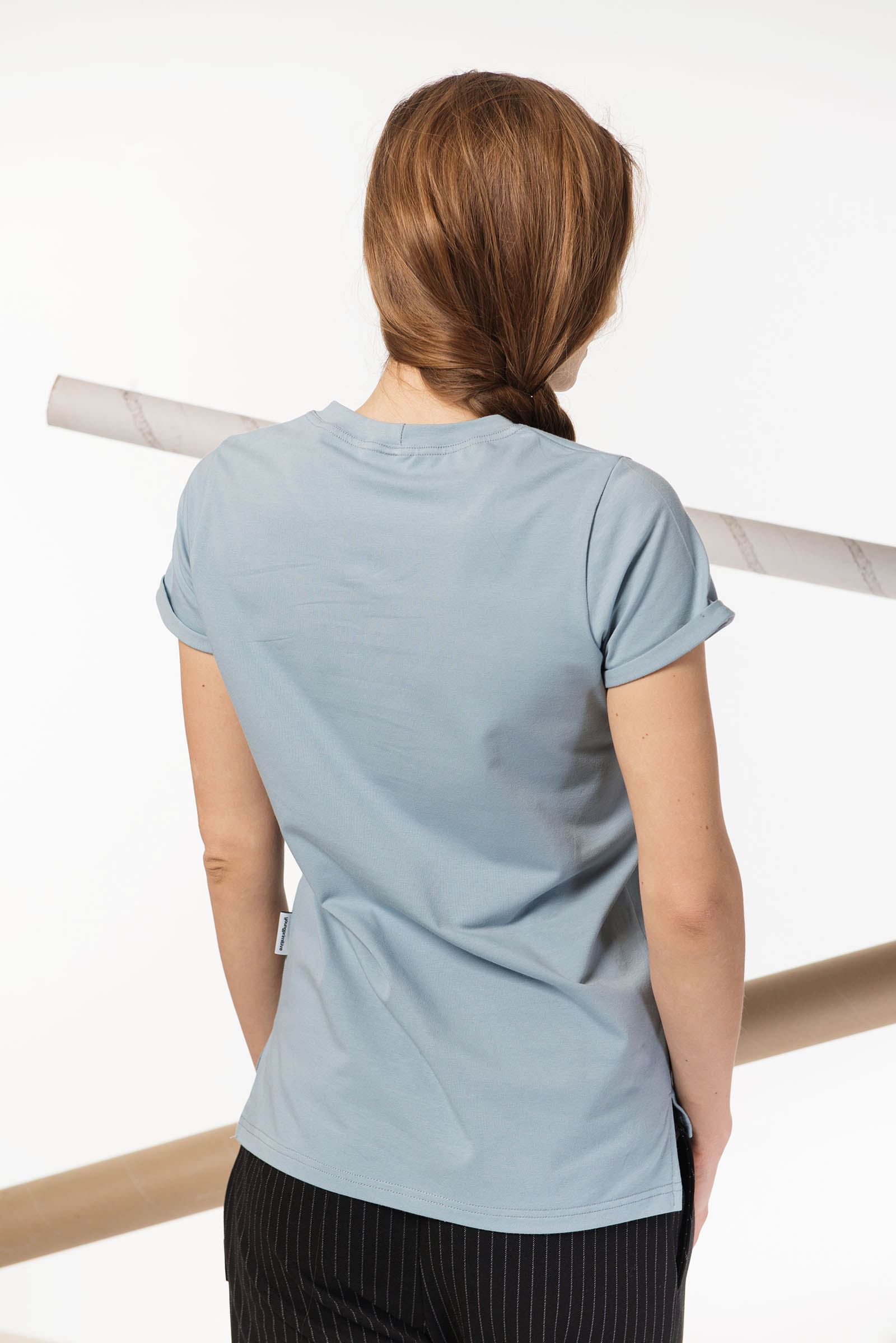 t-shirt for women Thea menthol