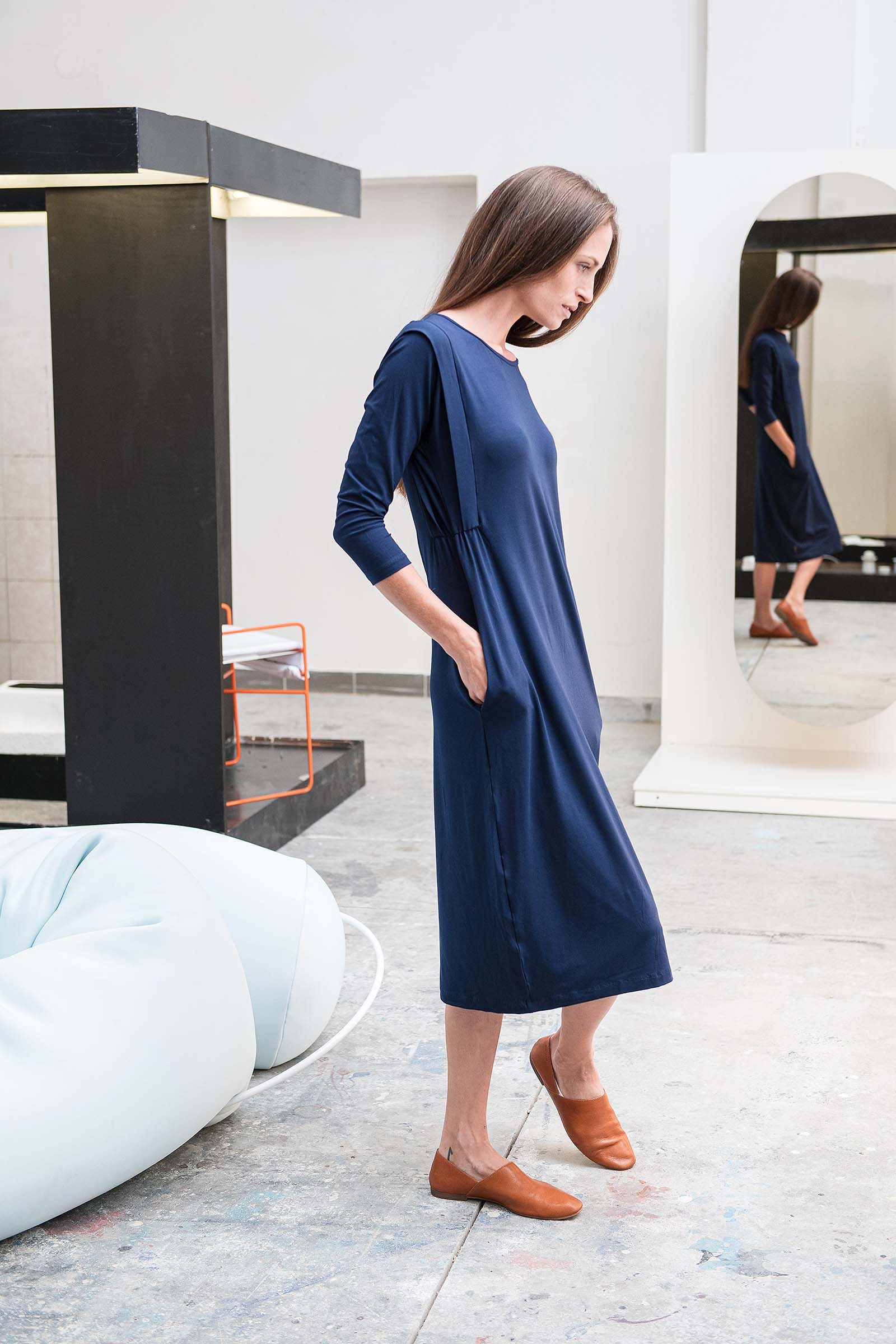 Dresses and skirts Zaira deep blue