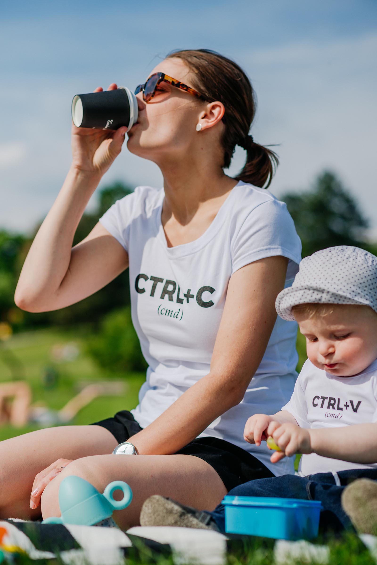 t-shirt and shirt for women ctrl+cw white