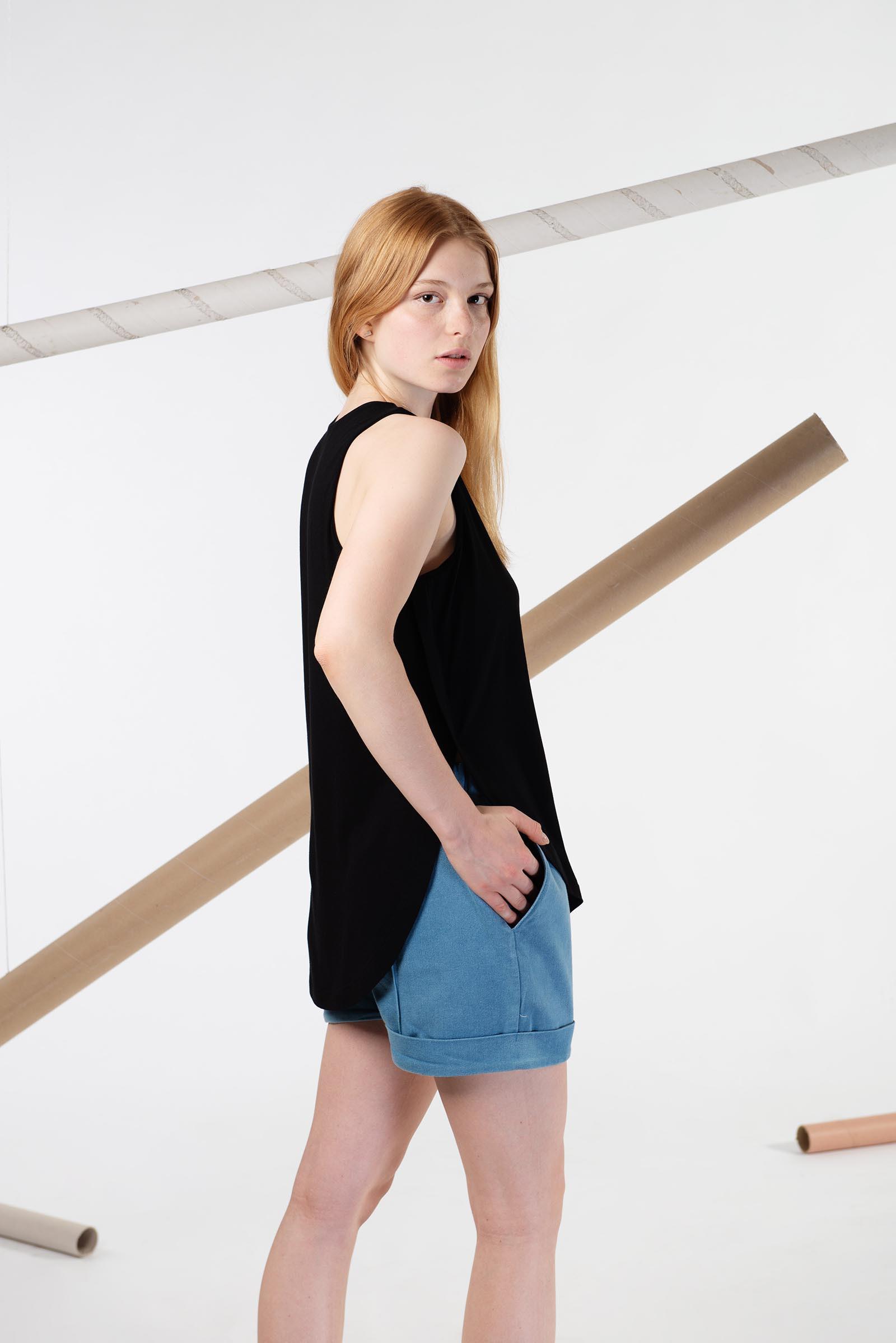 Dámské tričko Anja černá