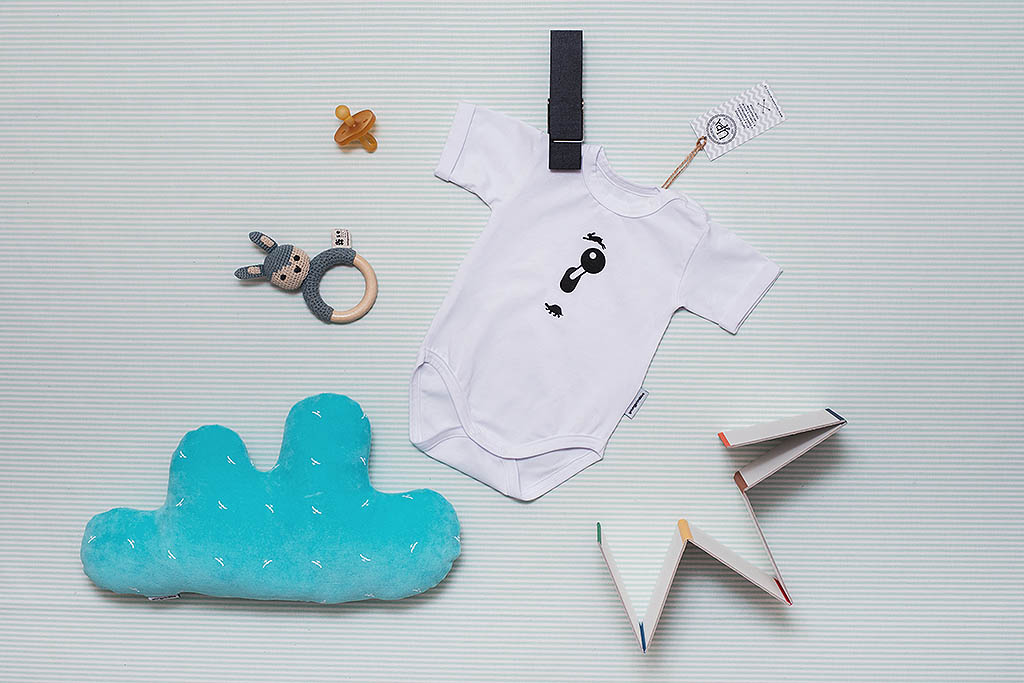 children's outfit Zajic white