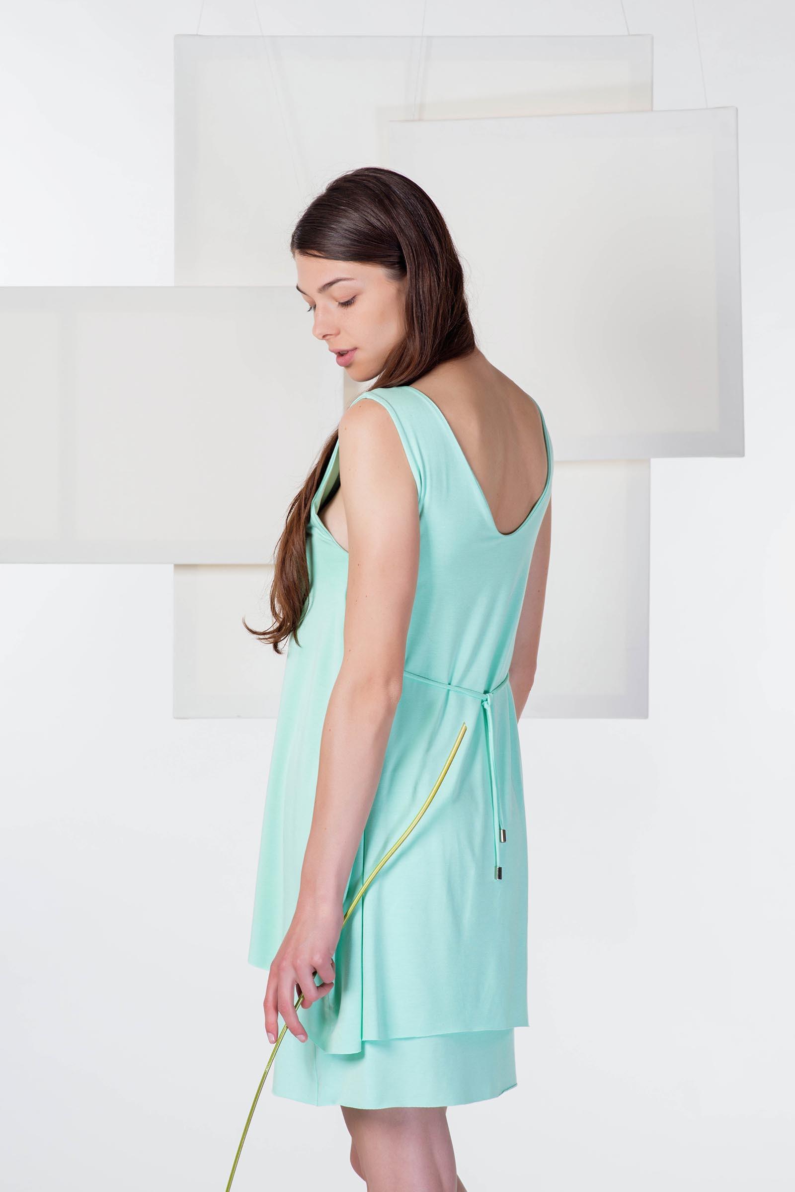 Šaty a sukně Agnes mintová