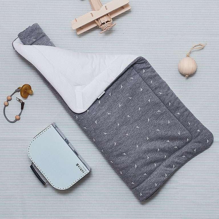 children's outfit Perinka grey melange