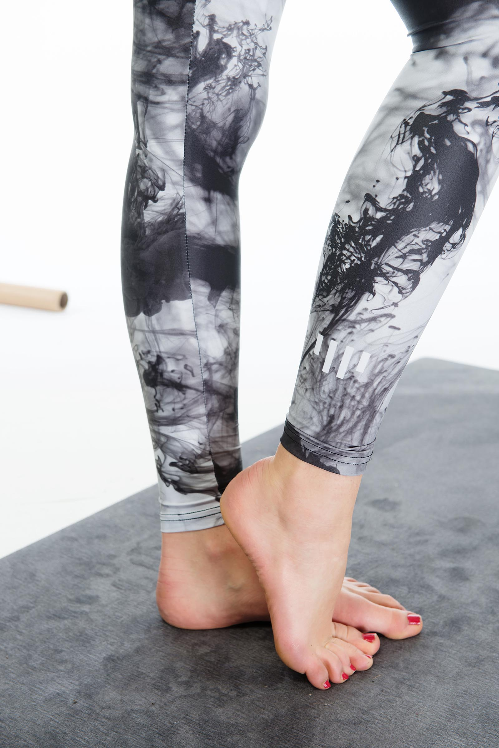Leggings Smoke Black and white