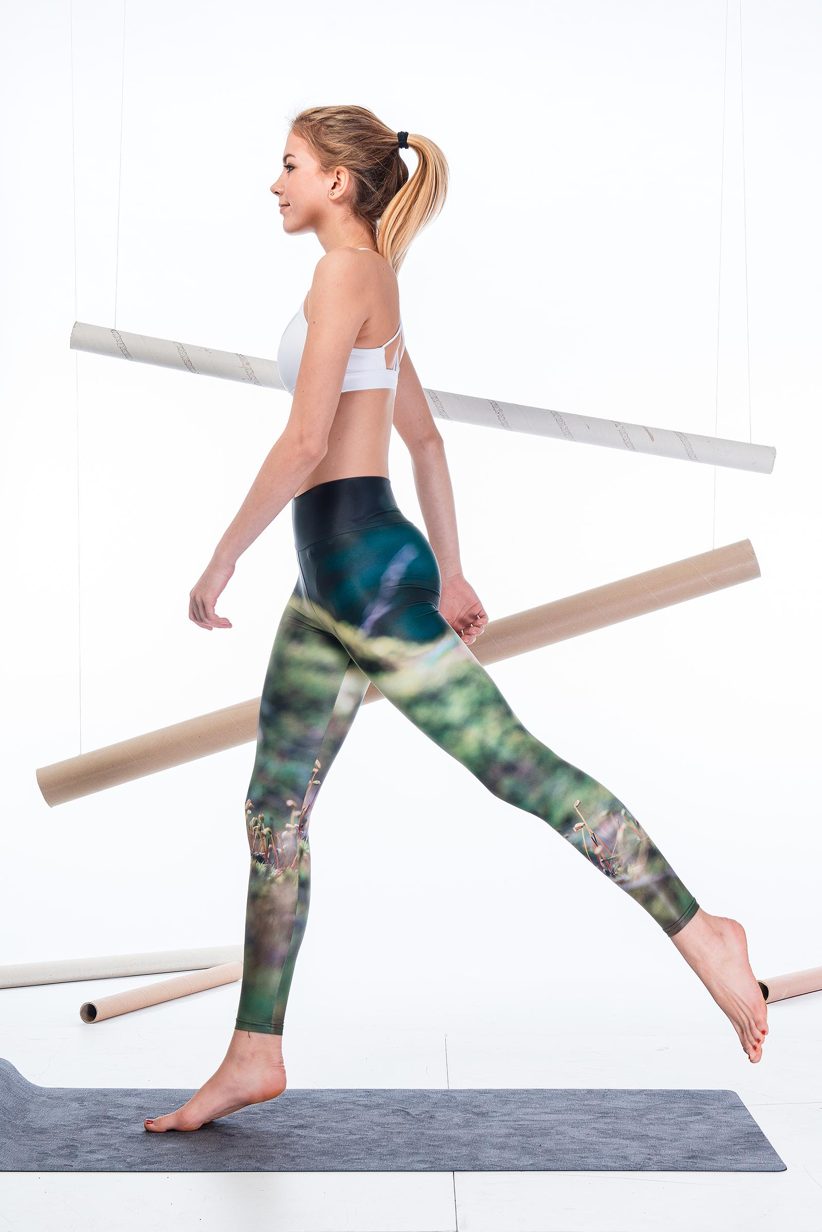 Leggings Botanicula green