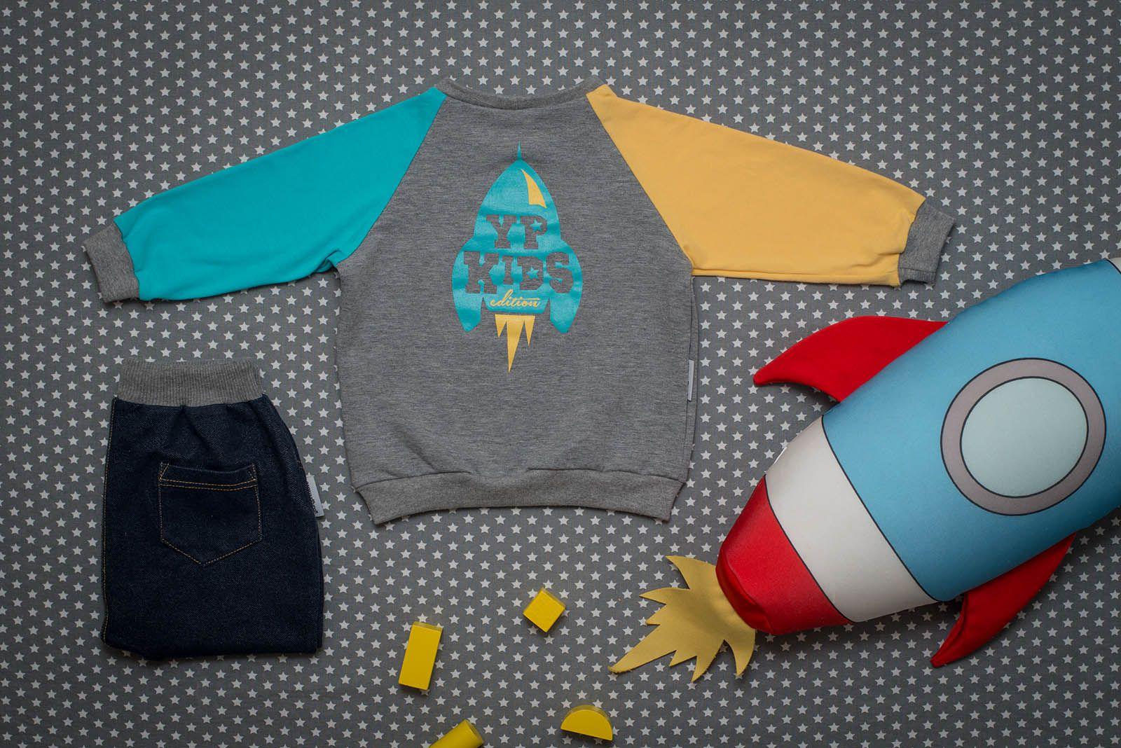 dětské oblečení Apollo šedá