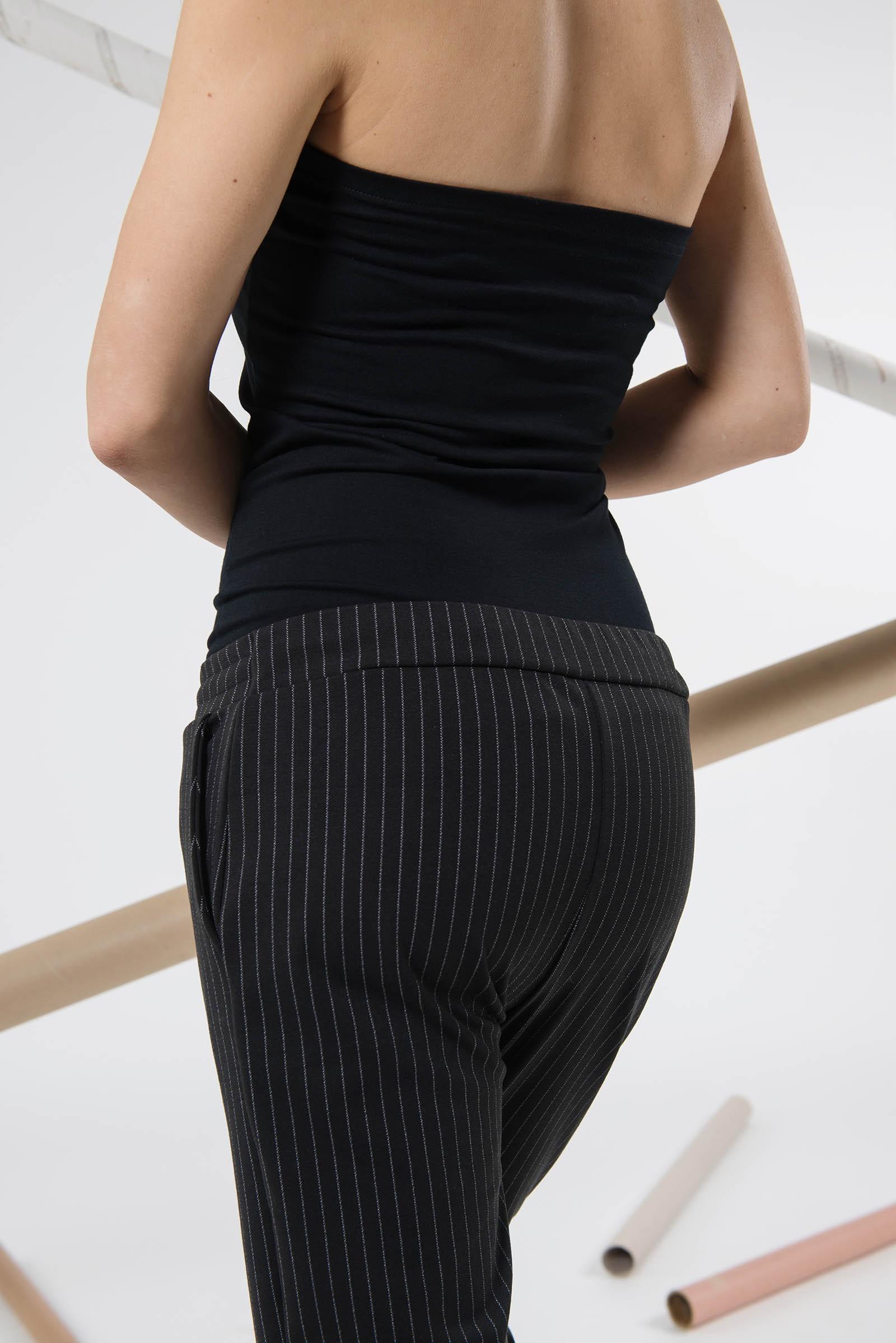Kalhoty Kari černá