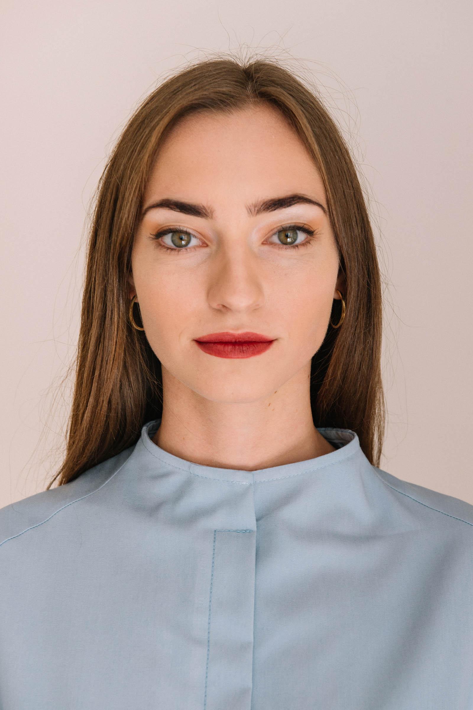 t-shirt for women Krista light blue