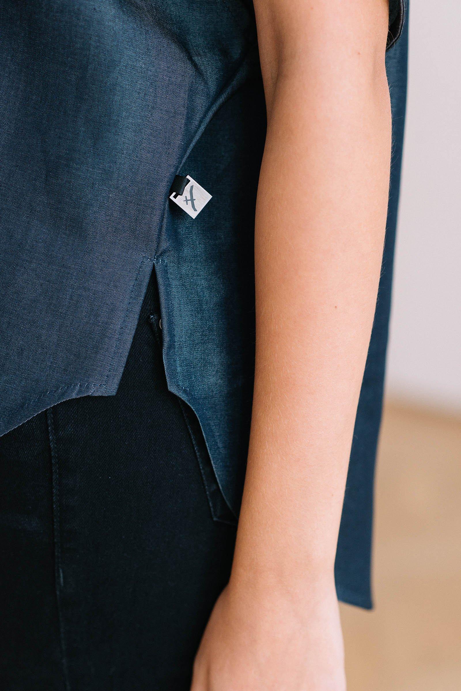 t-shirt for women Krista dark blue