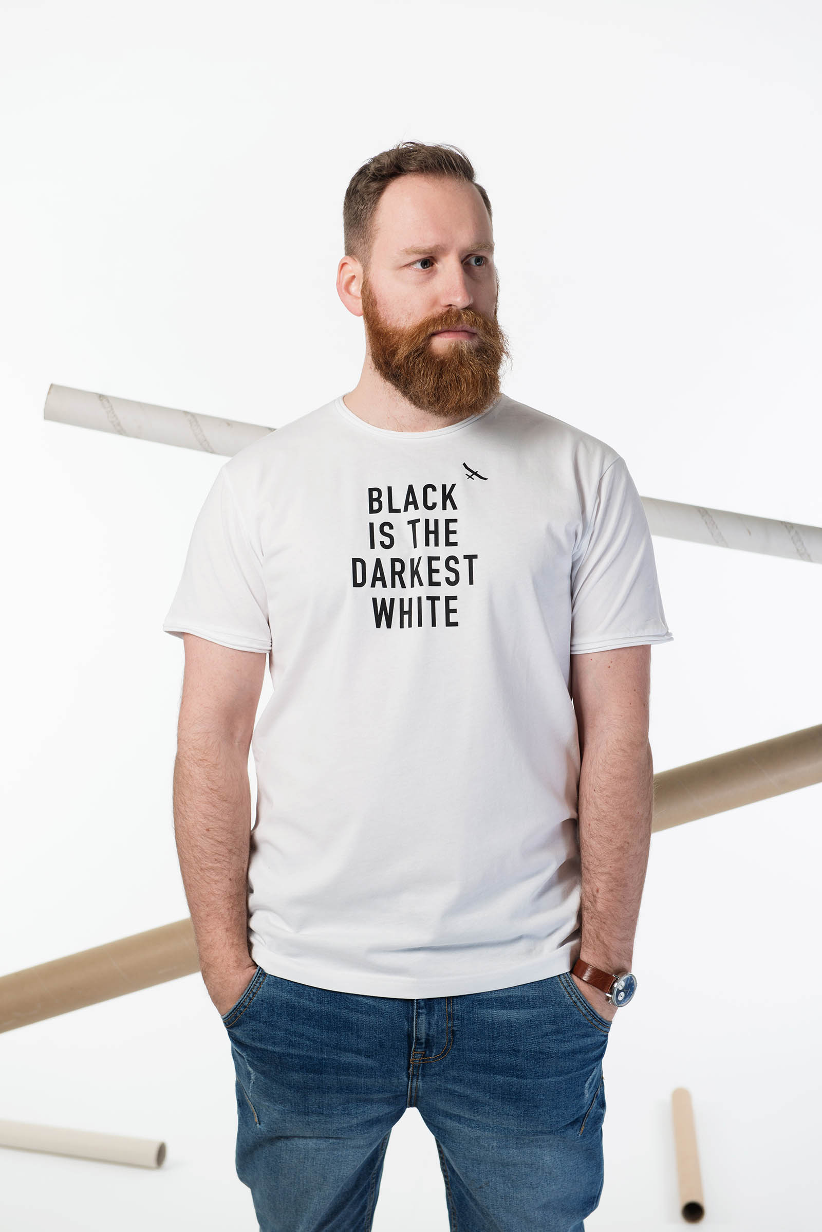t-shirt for men Equality white