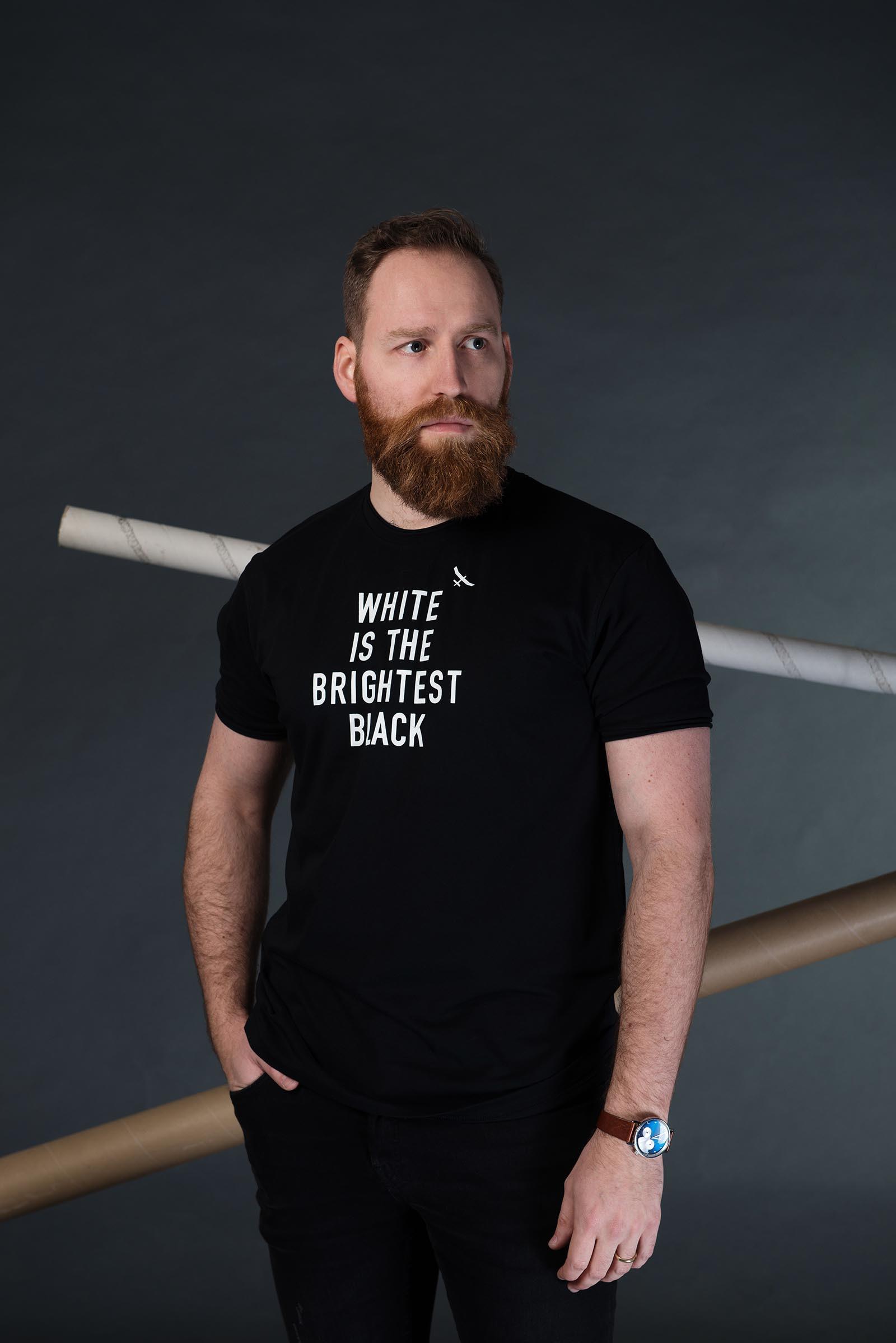 Pánské tričko Equality černá
