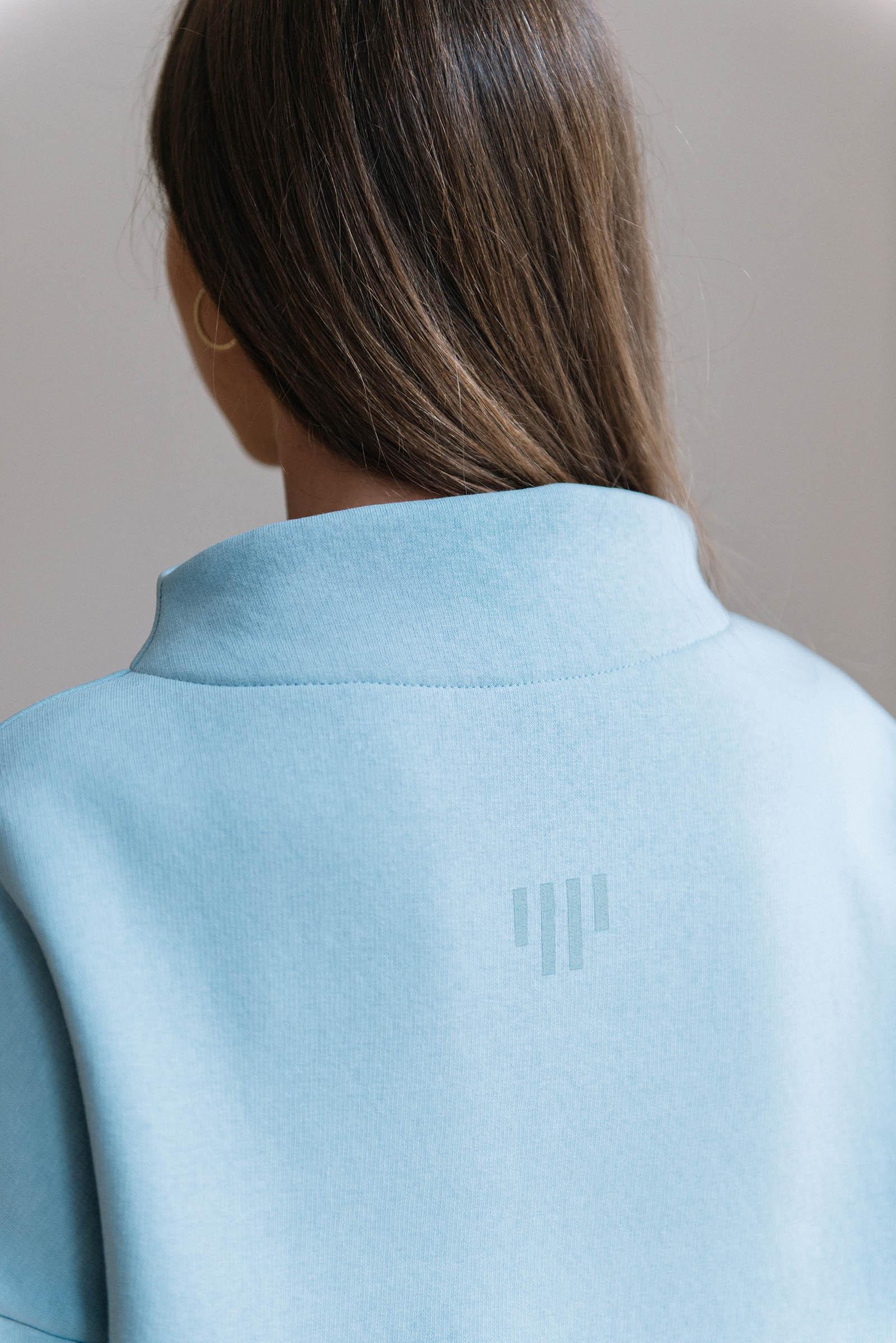 women sweatshirt and sweaters Berta light blue