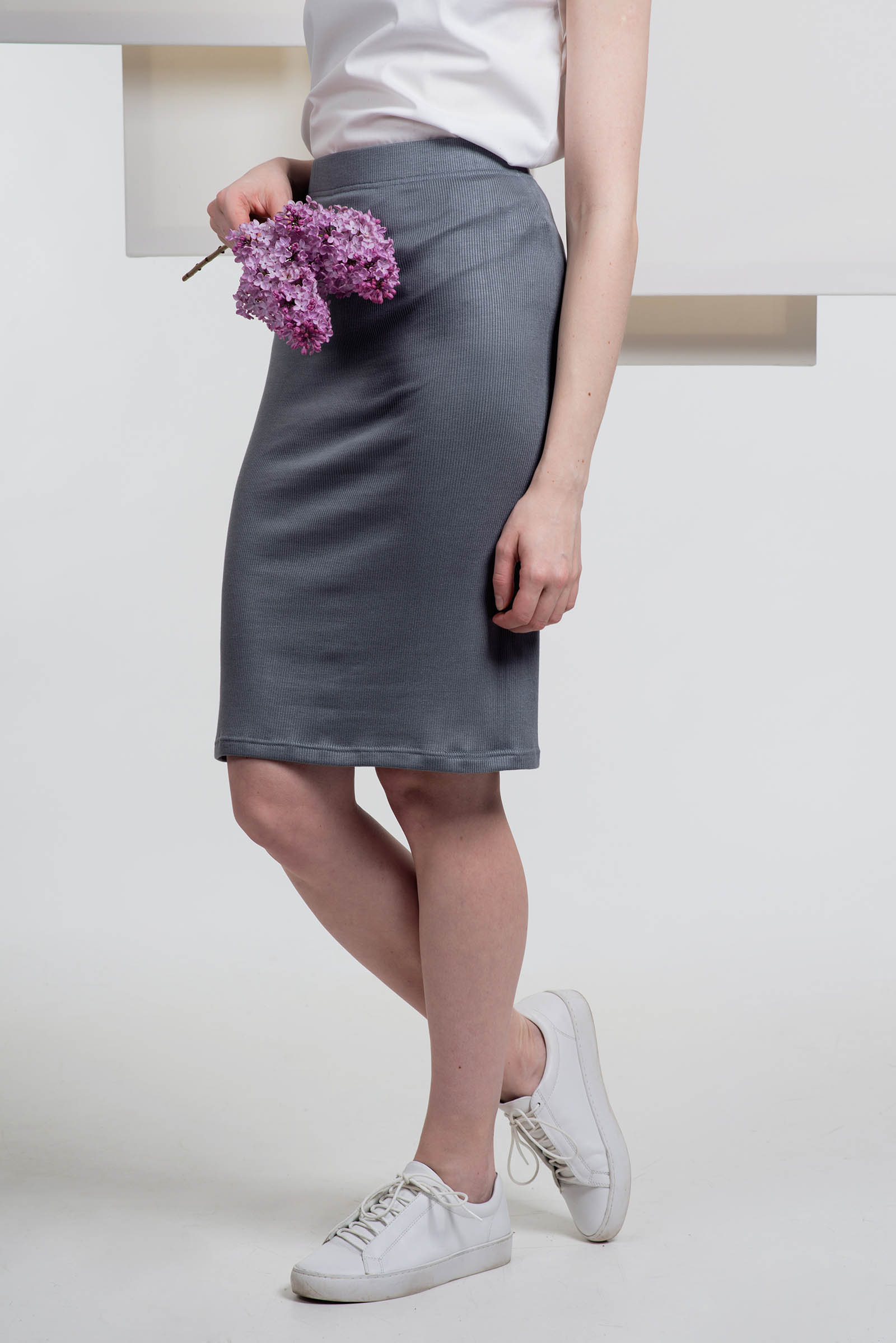 Dresses and skirts BEA dark grey