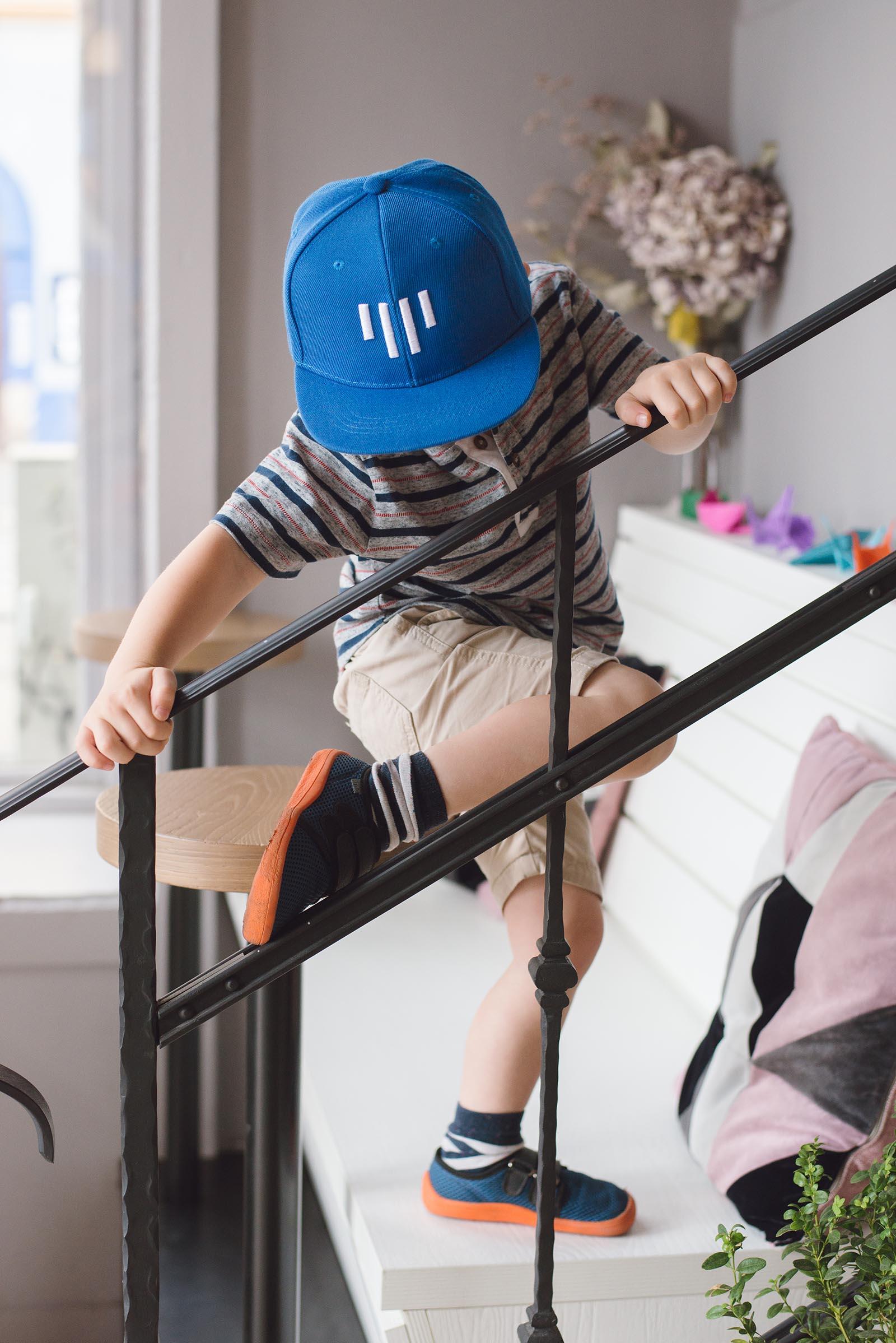 dětské oblečení Kids snapback modrá