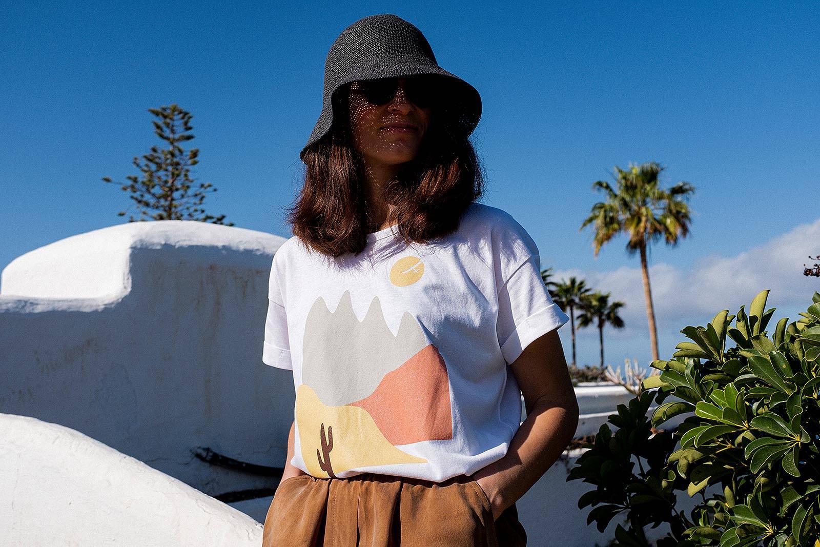 t-shirt and shirt Sunshine white