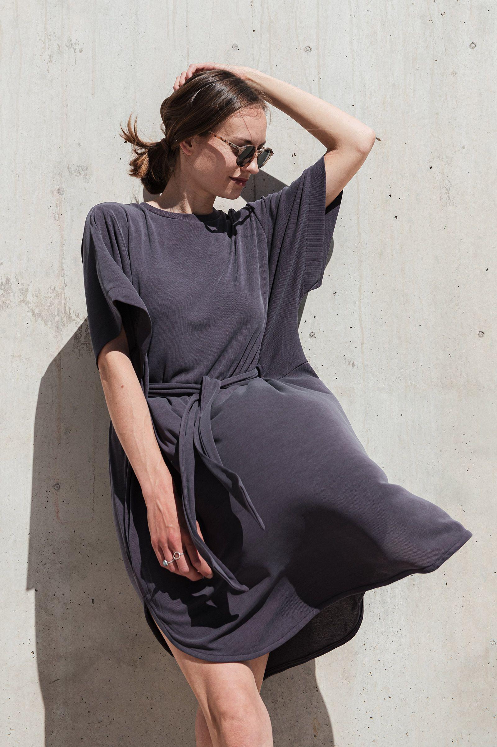 Dresses and skirts Agnes plum