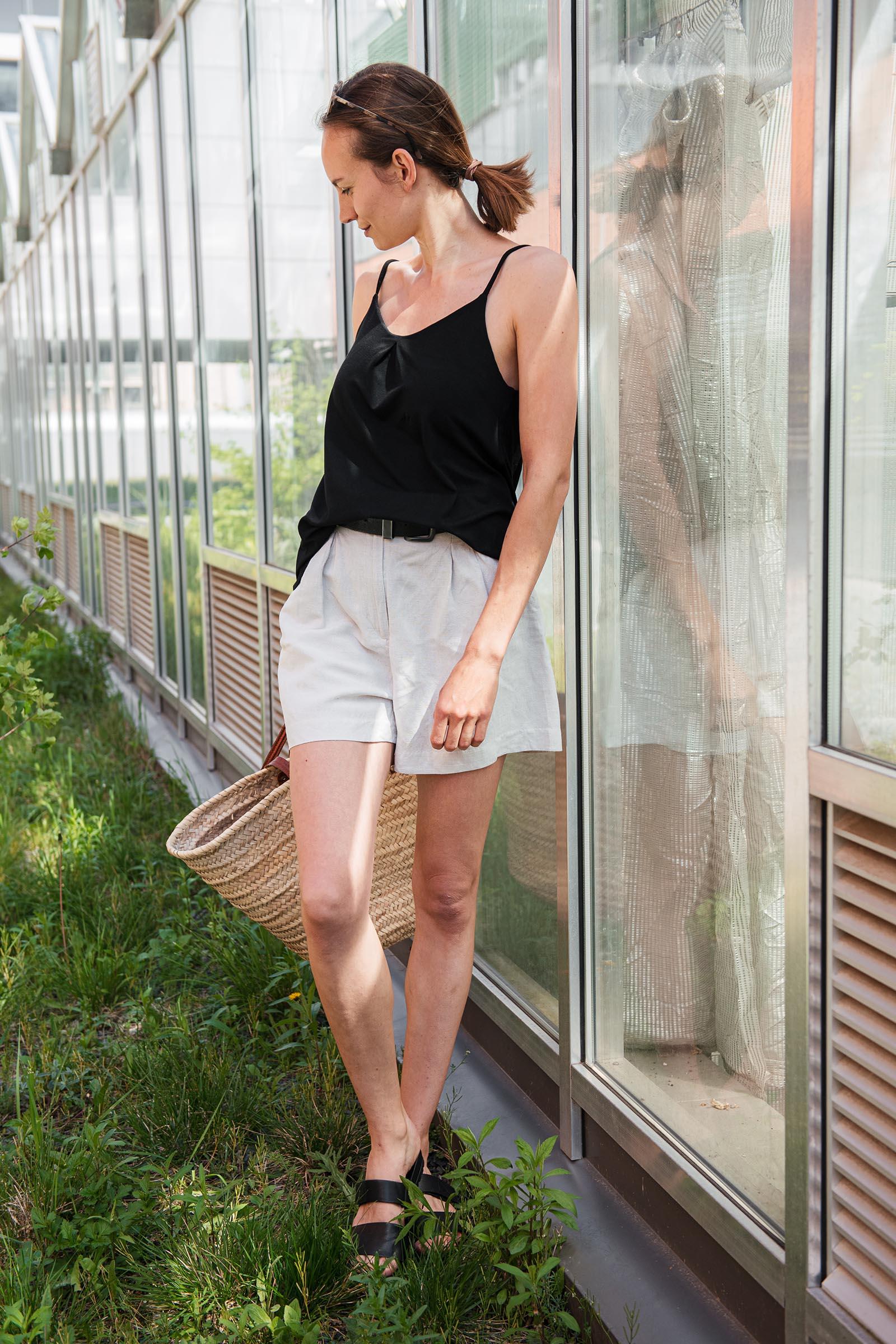 t-shirt and shirt Živa black