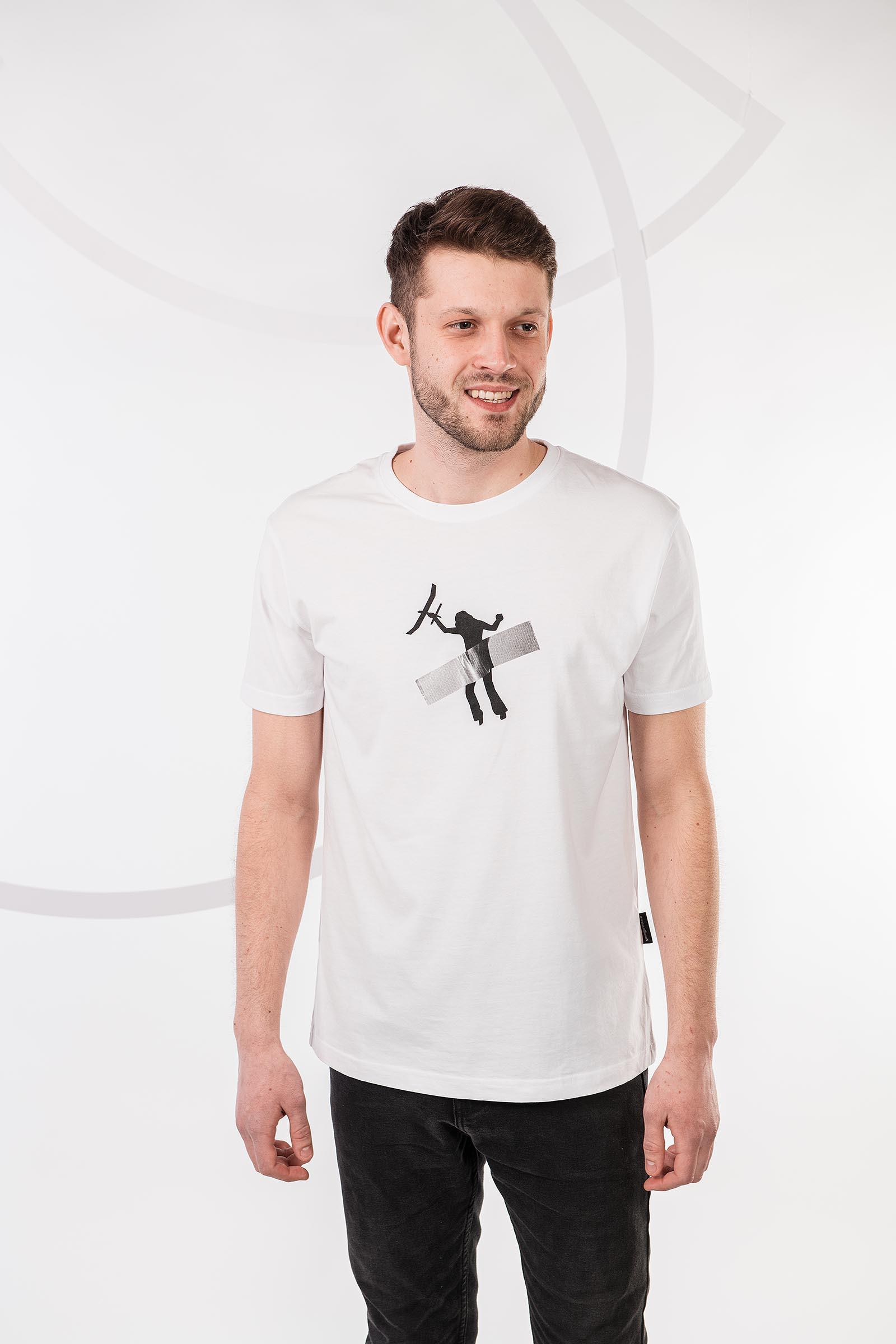 t-shirt for men Art white