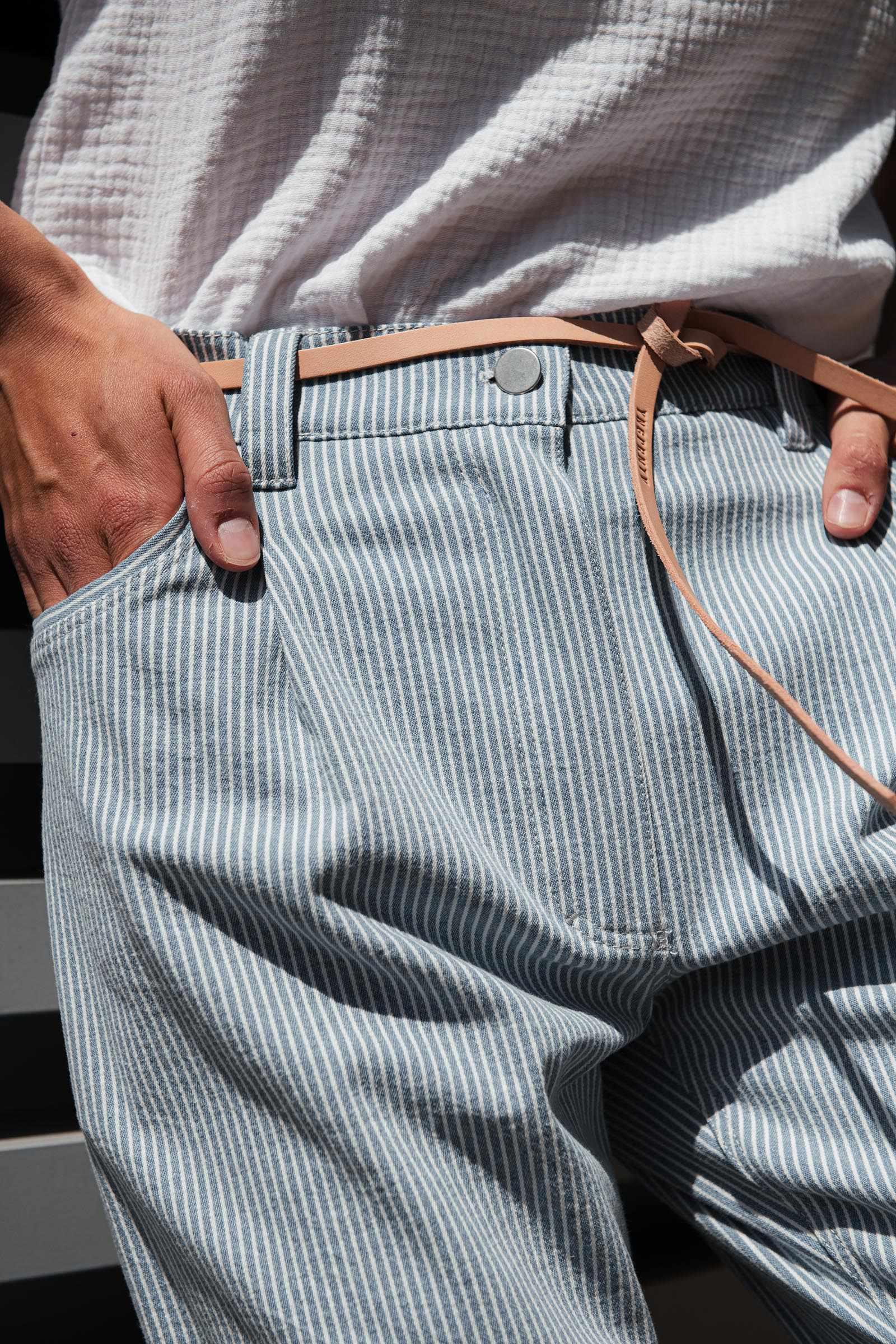 pants & shorts Gala blue stripe