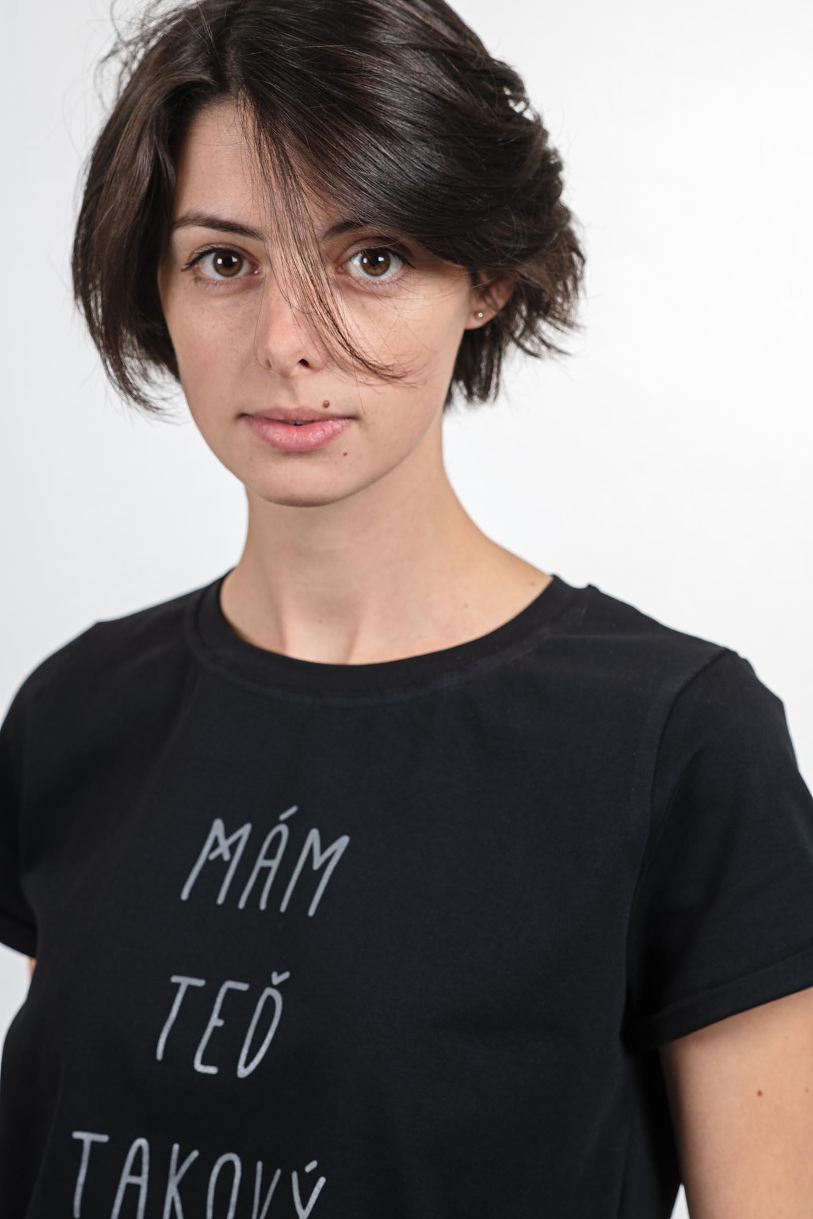 trička a košile Období černá