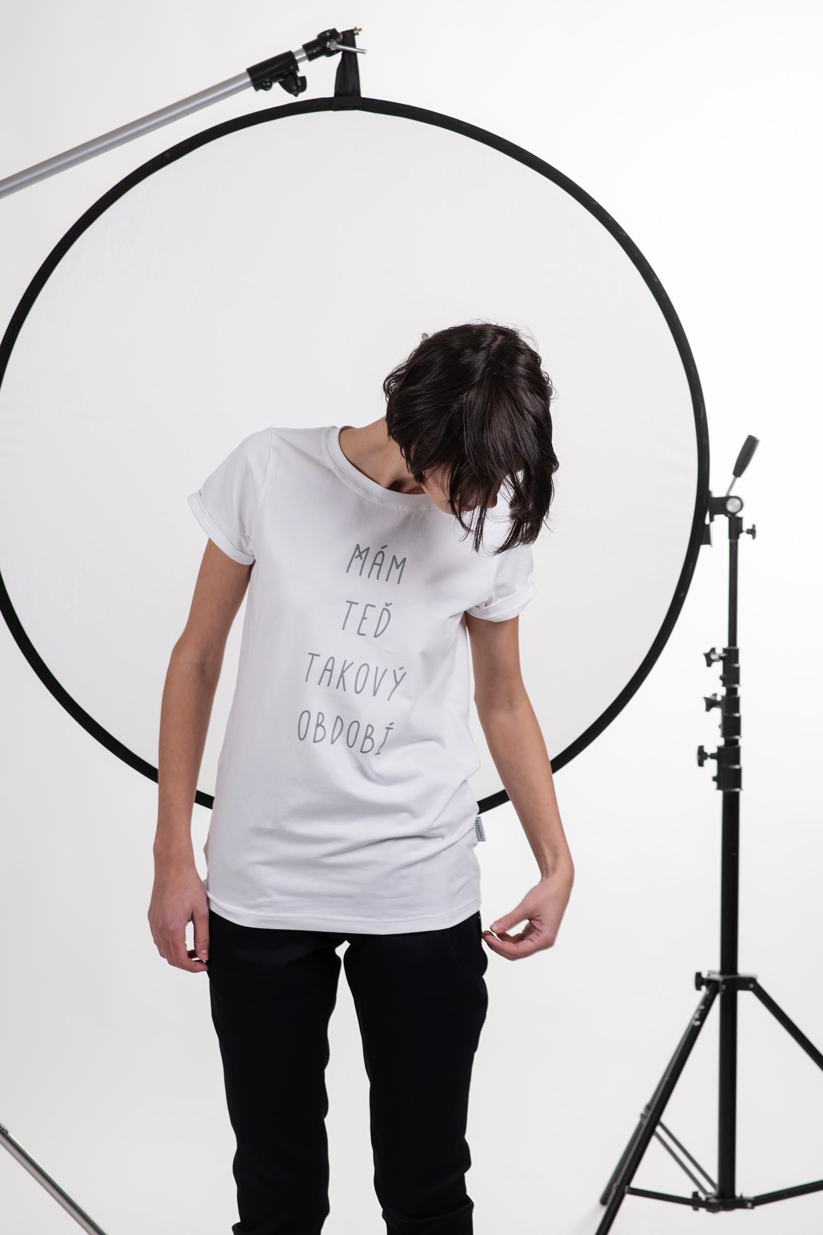 t-shirt for women Období white