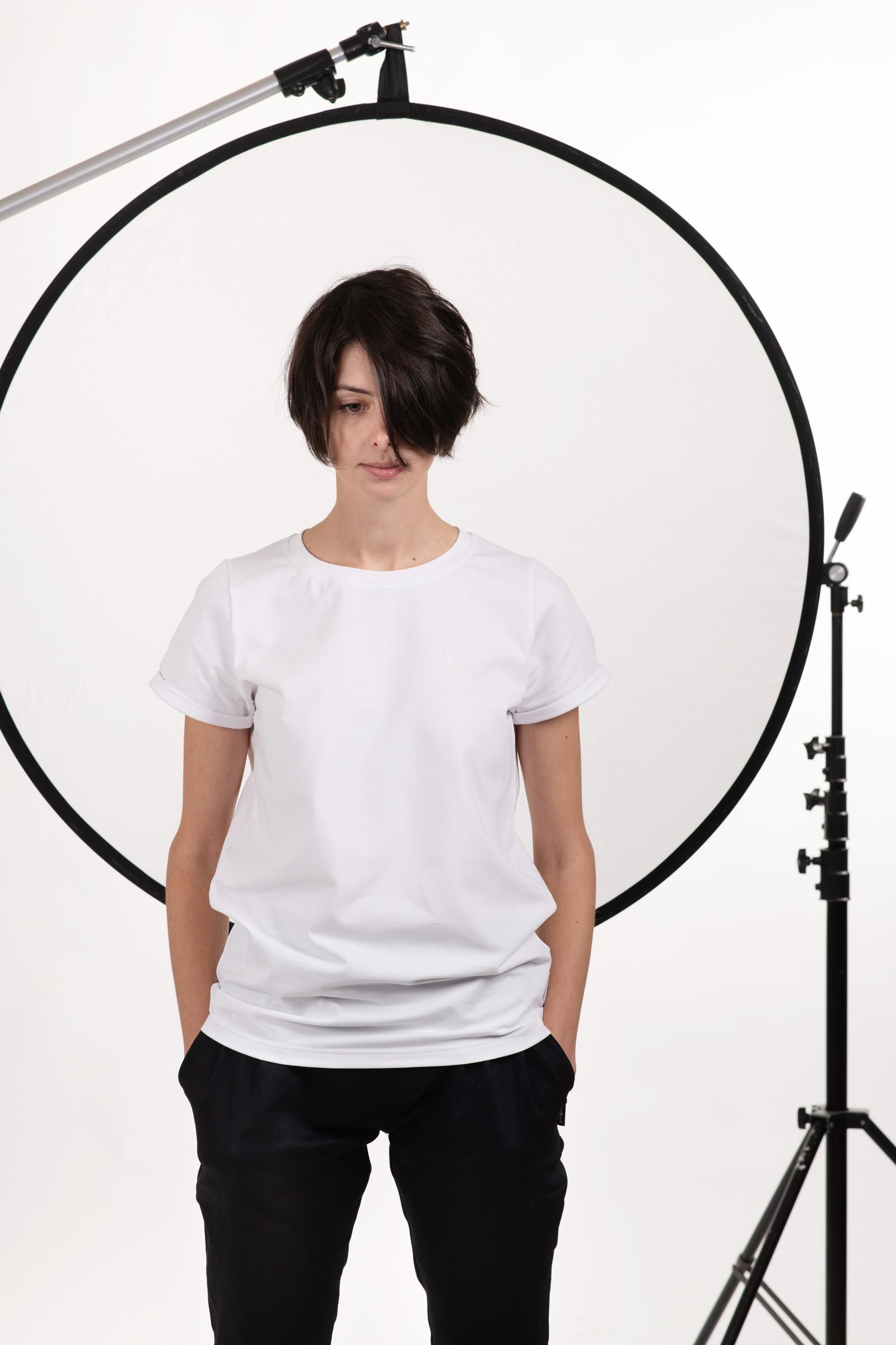 Dámské trička a košile Thea bílá