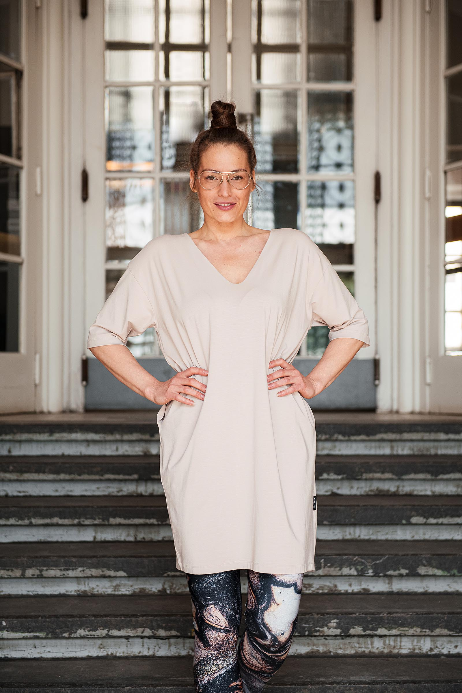 Šaty a sukně Aletta tofu
