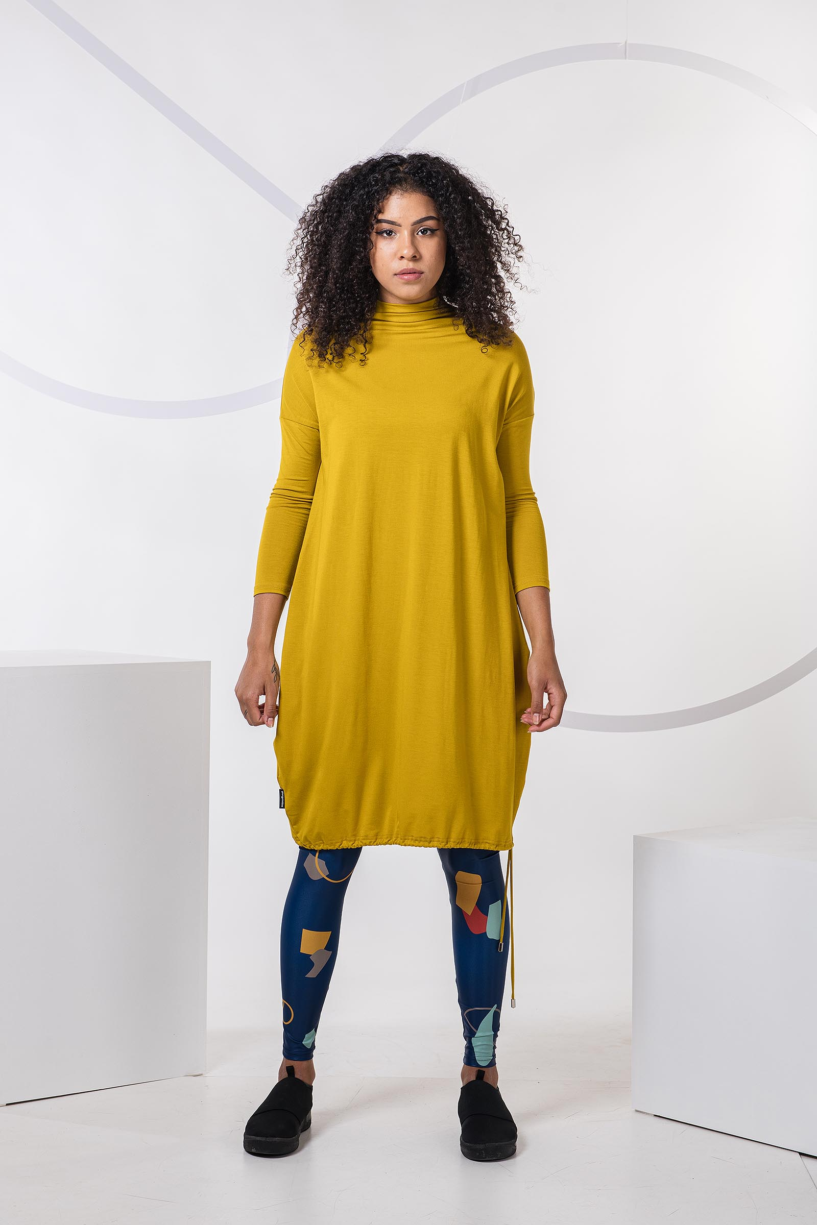 Dresses and skirts Vilma mustard