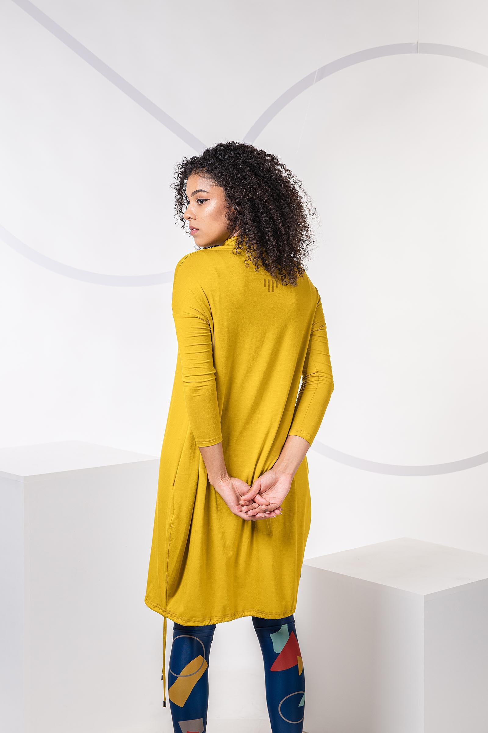 Šaty a sukně Vilma hořčicová