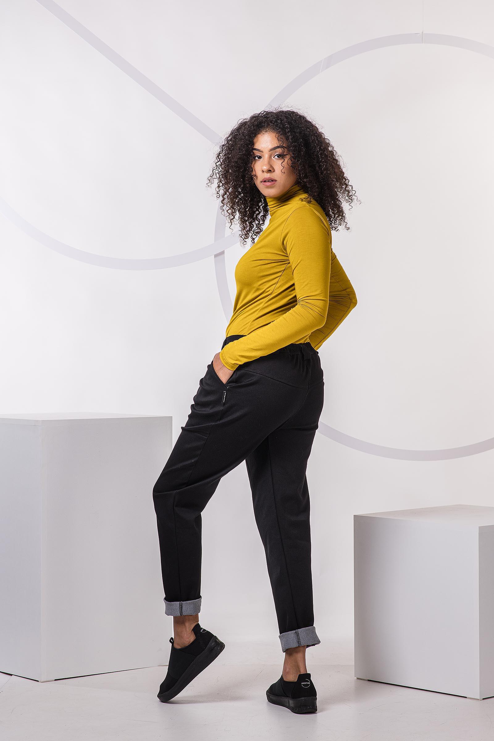 Kalhoty Nora černá