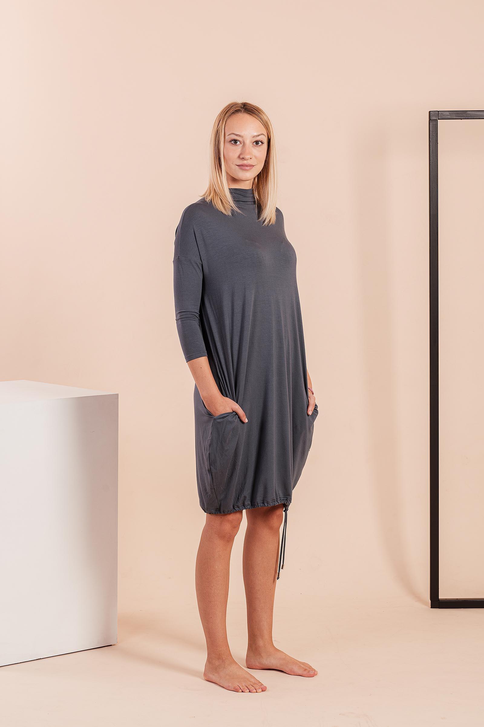 Šaty a sukně Vilma steel blue