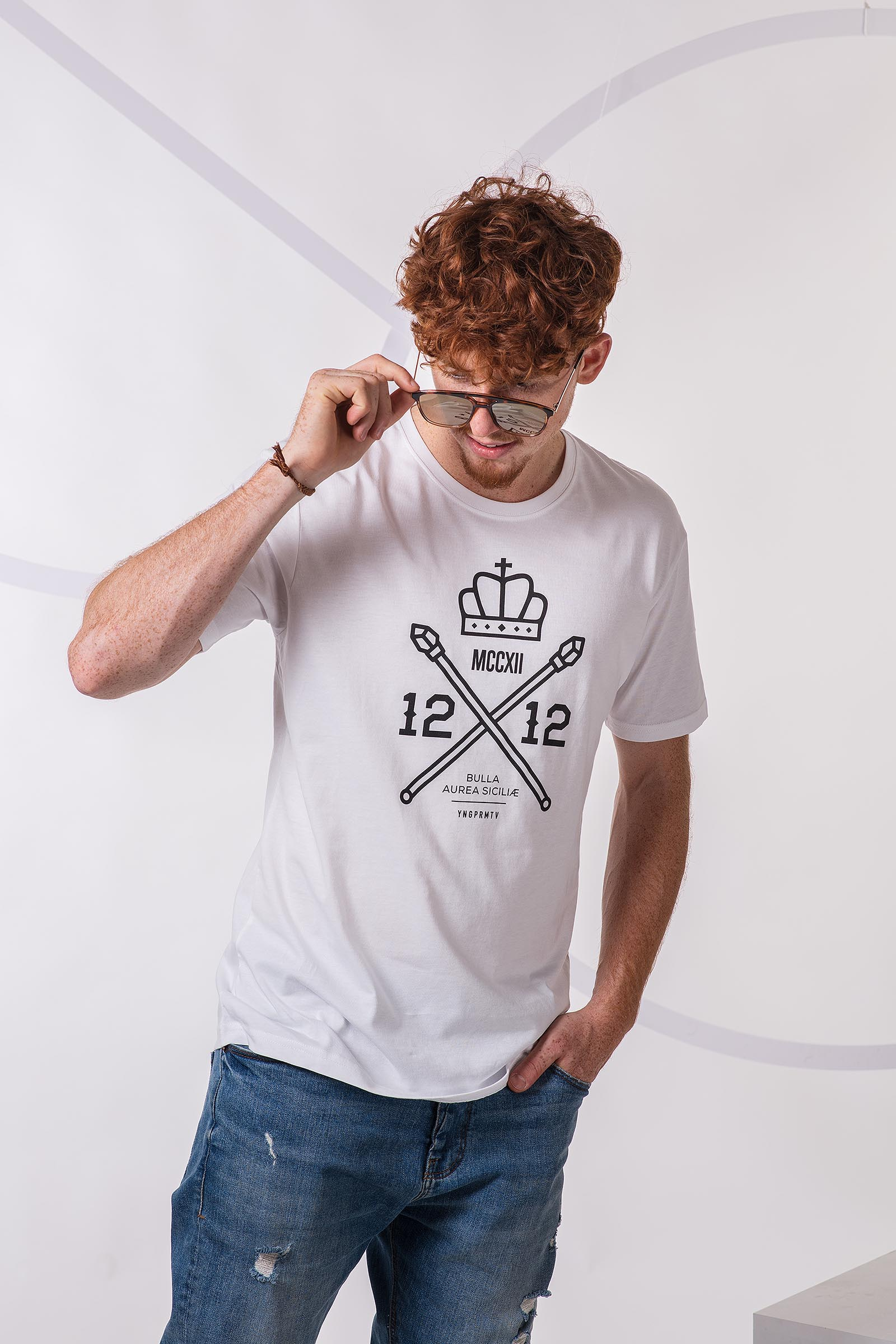 t-shirt for men 1212 white