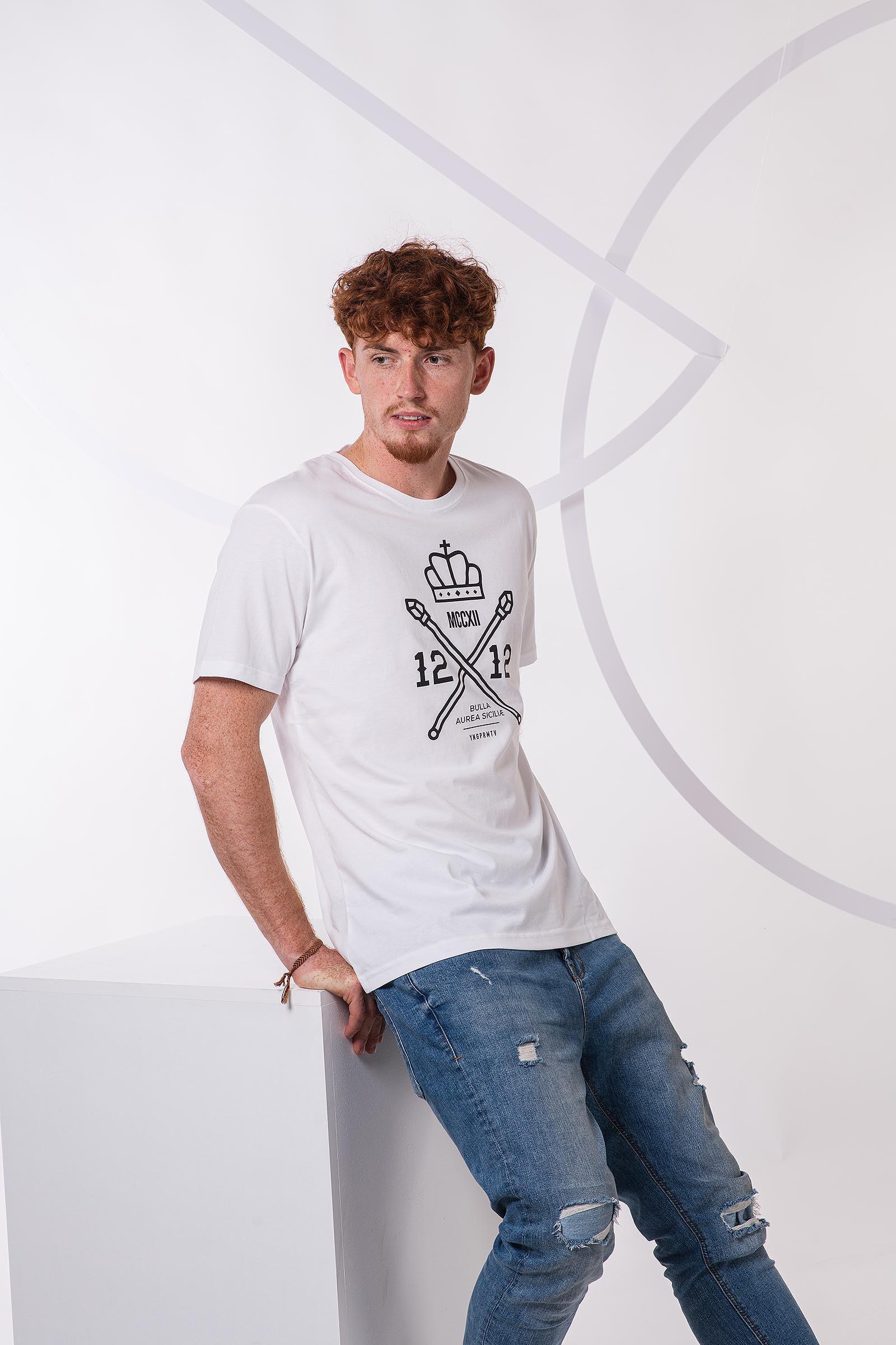 Pánské tričko 1212 bílá