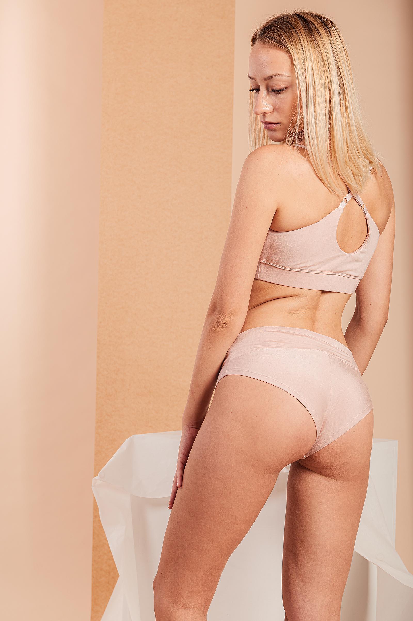 Spodní prádlo Luana nude pink