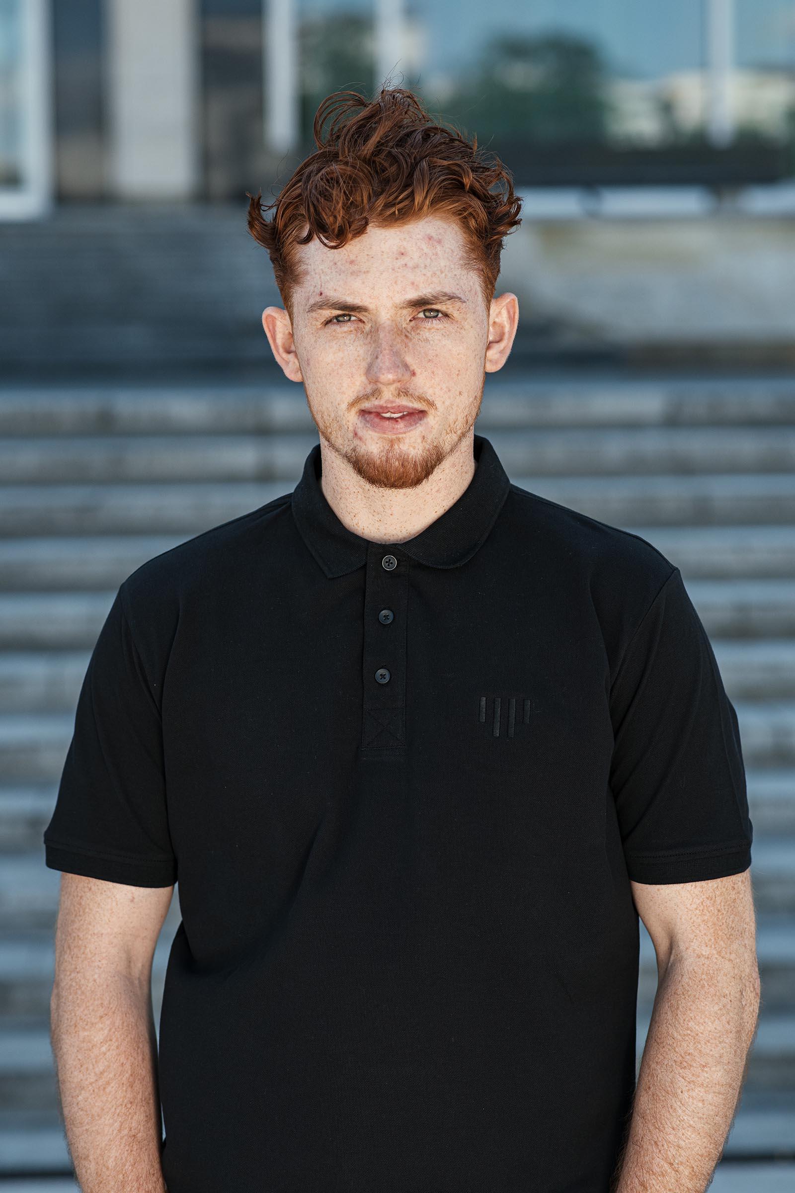 tričko Paul černá