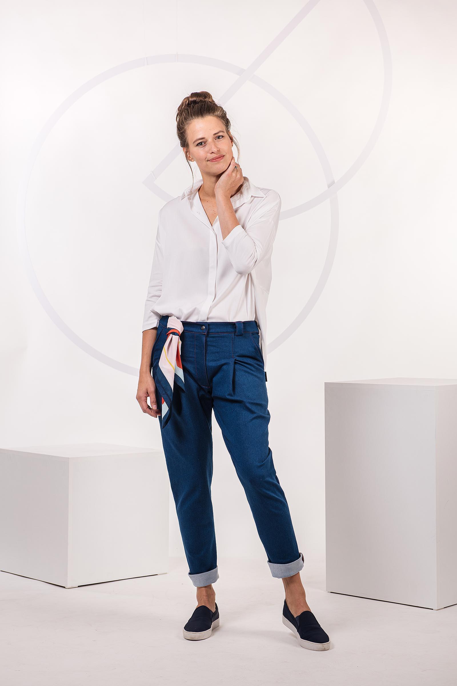 Kalhoty Nora blue jeans