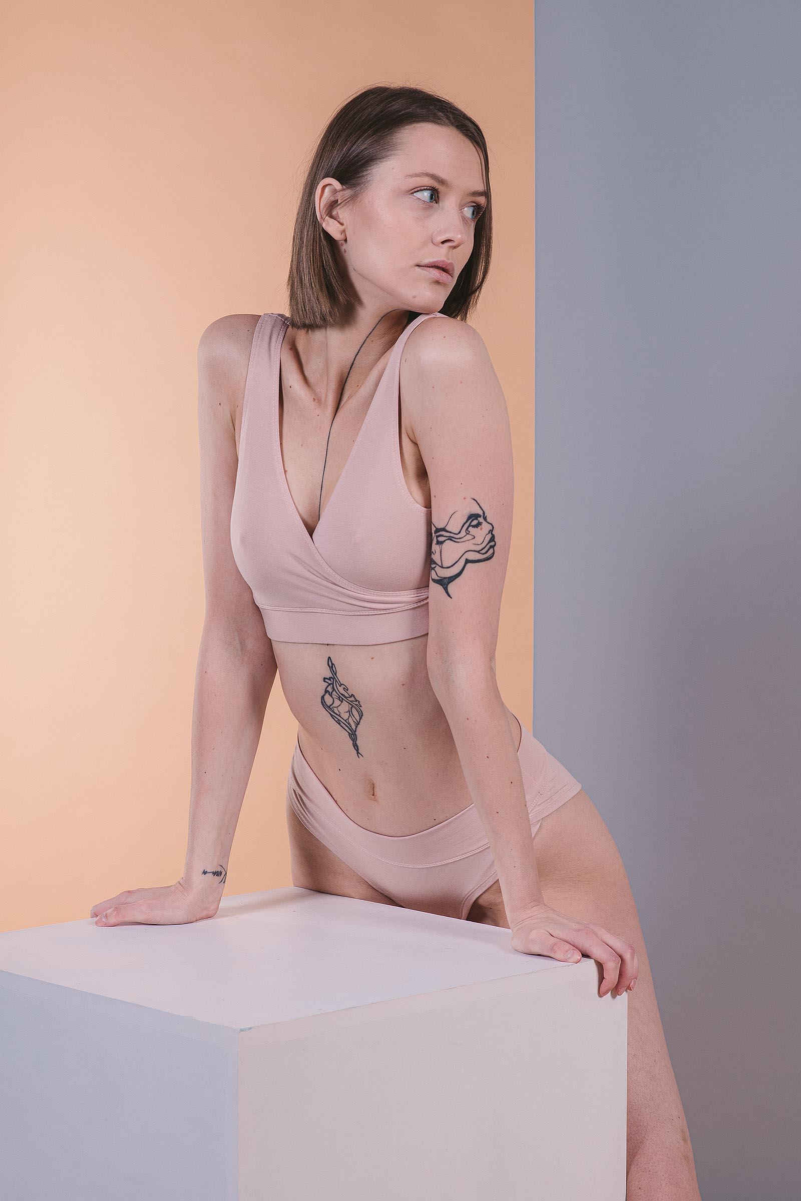 Spodní prádlo Kiara nude pink