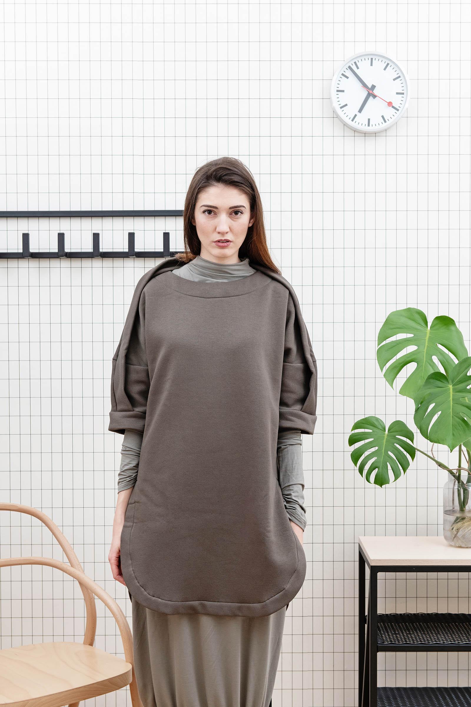 Šaty a sukně Vilma 2.0 khaki