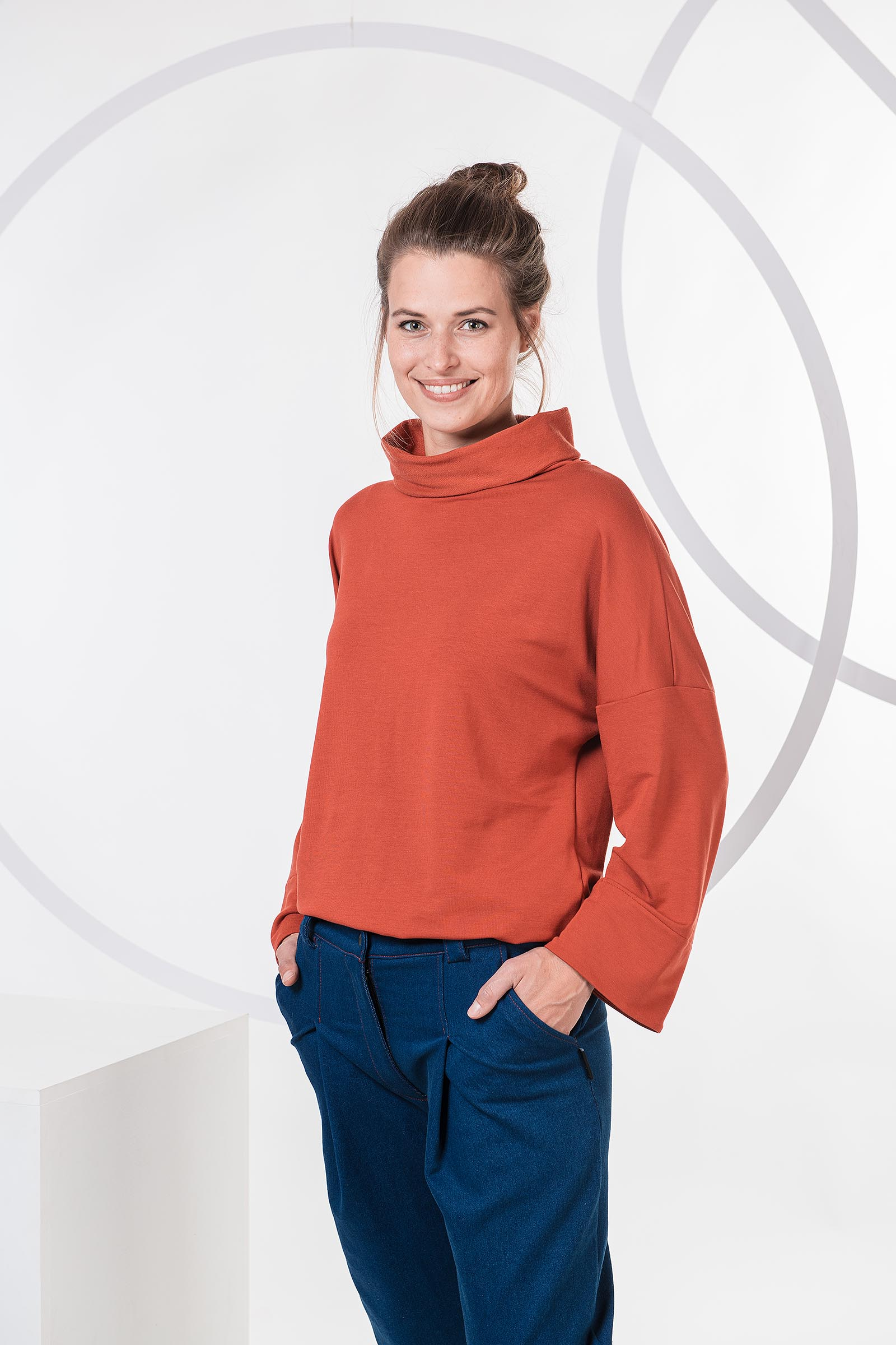 women sweatshirt and sweaters Roland brick