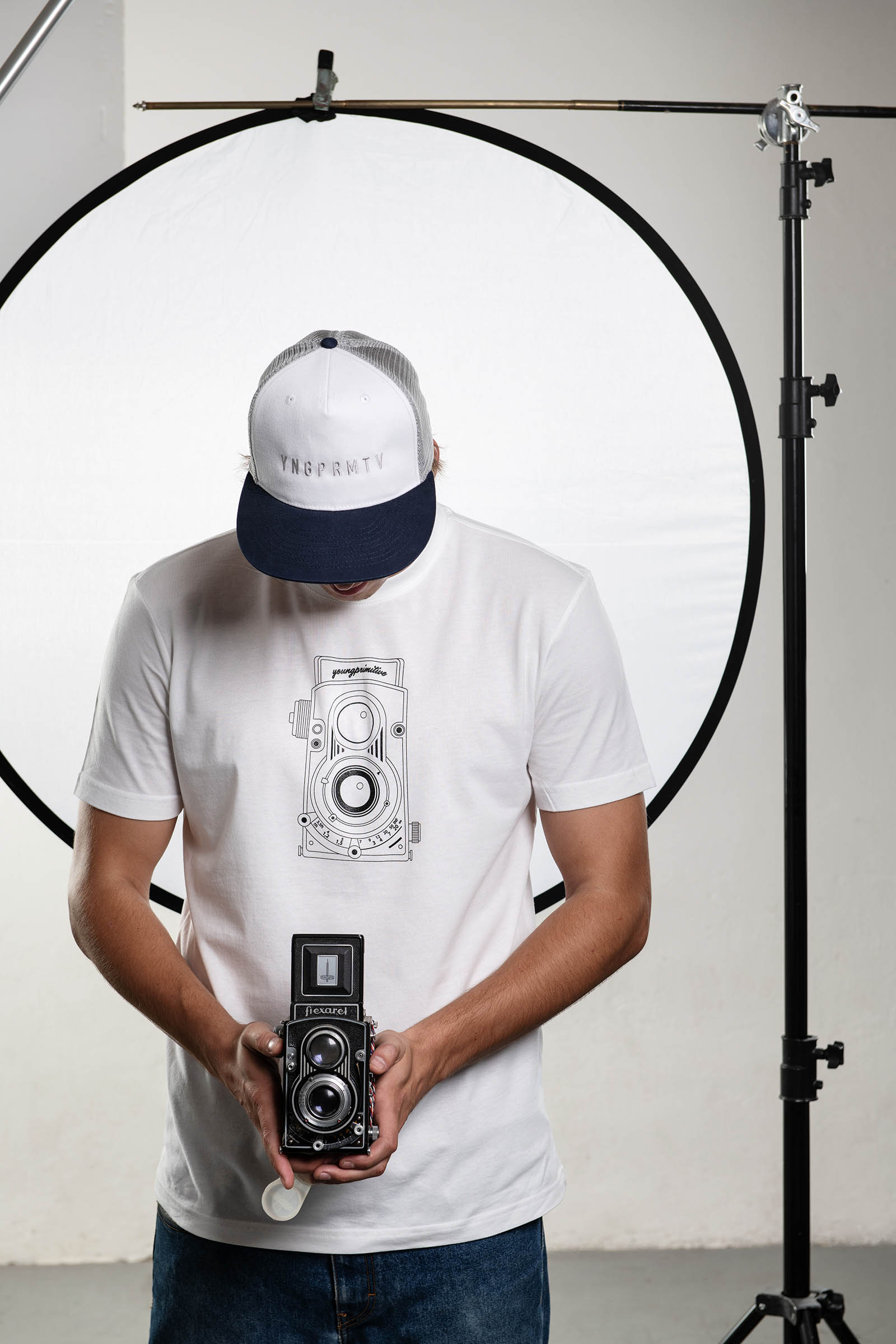 t-shirt for men Flexaret white