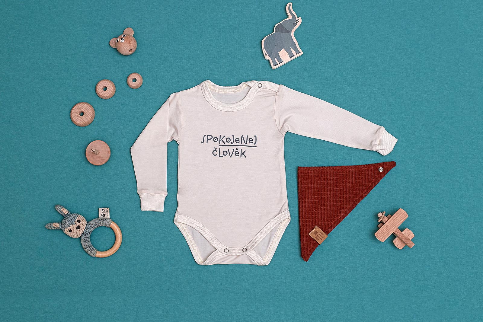children's outfit Kojenec off-white